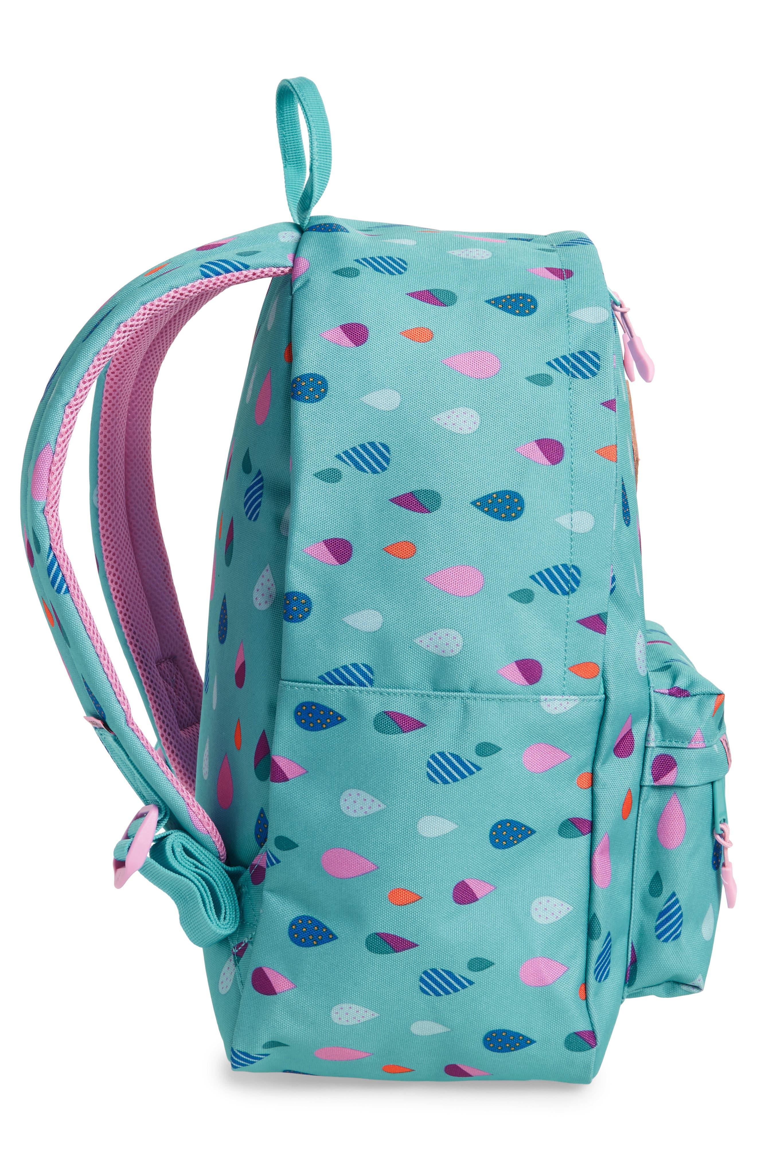Bayside - Puddles Backpack,                             Alternate thumbnail 3, color,                             Blue