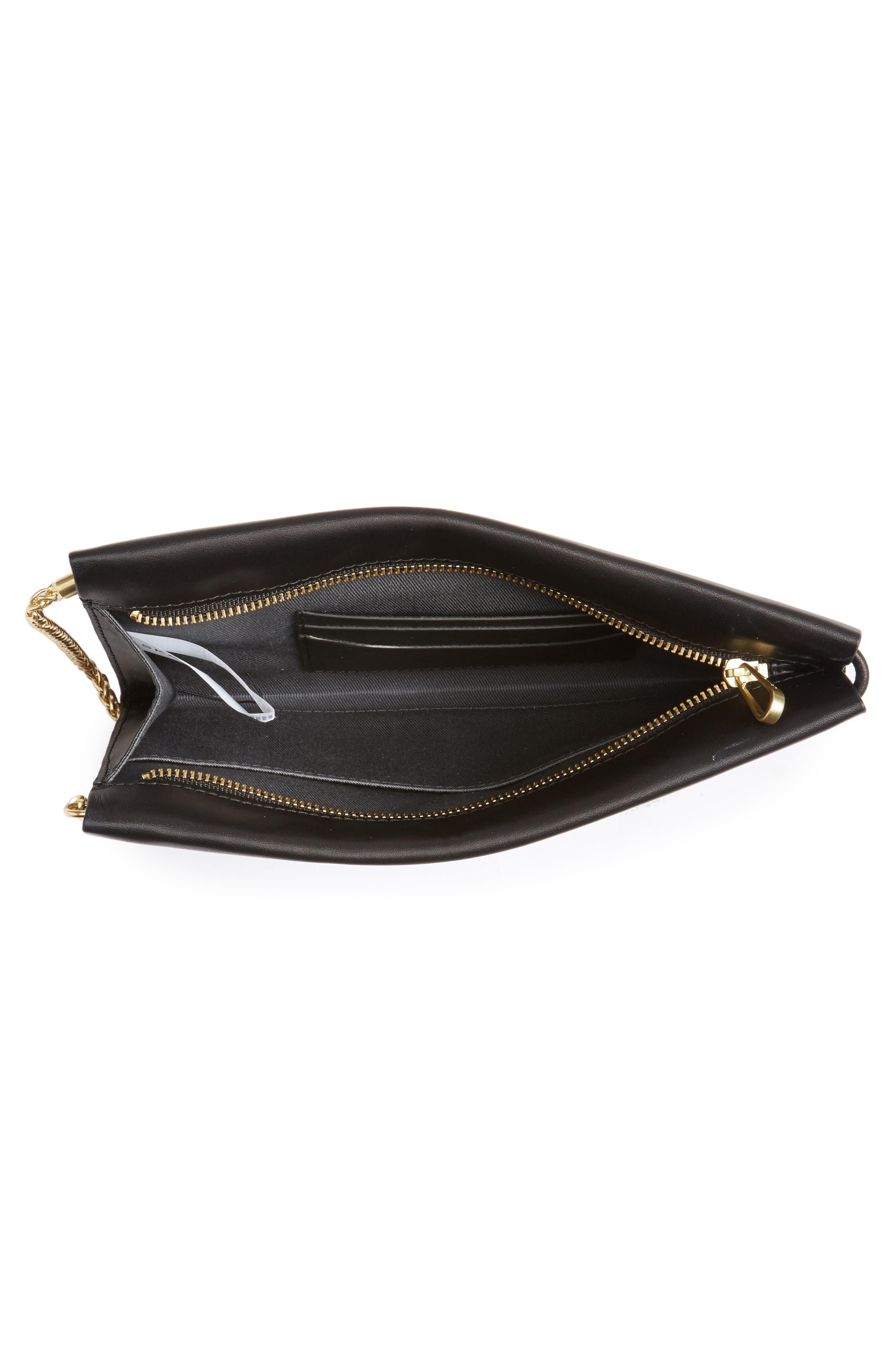 Alternate Image 4  - Skagen Leather Wristlet