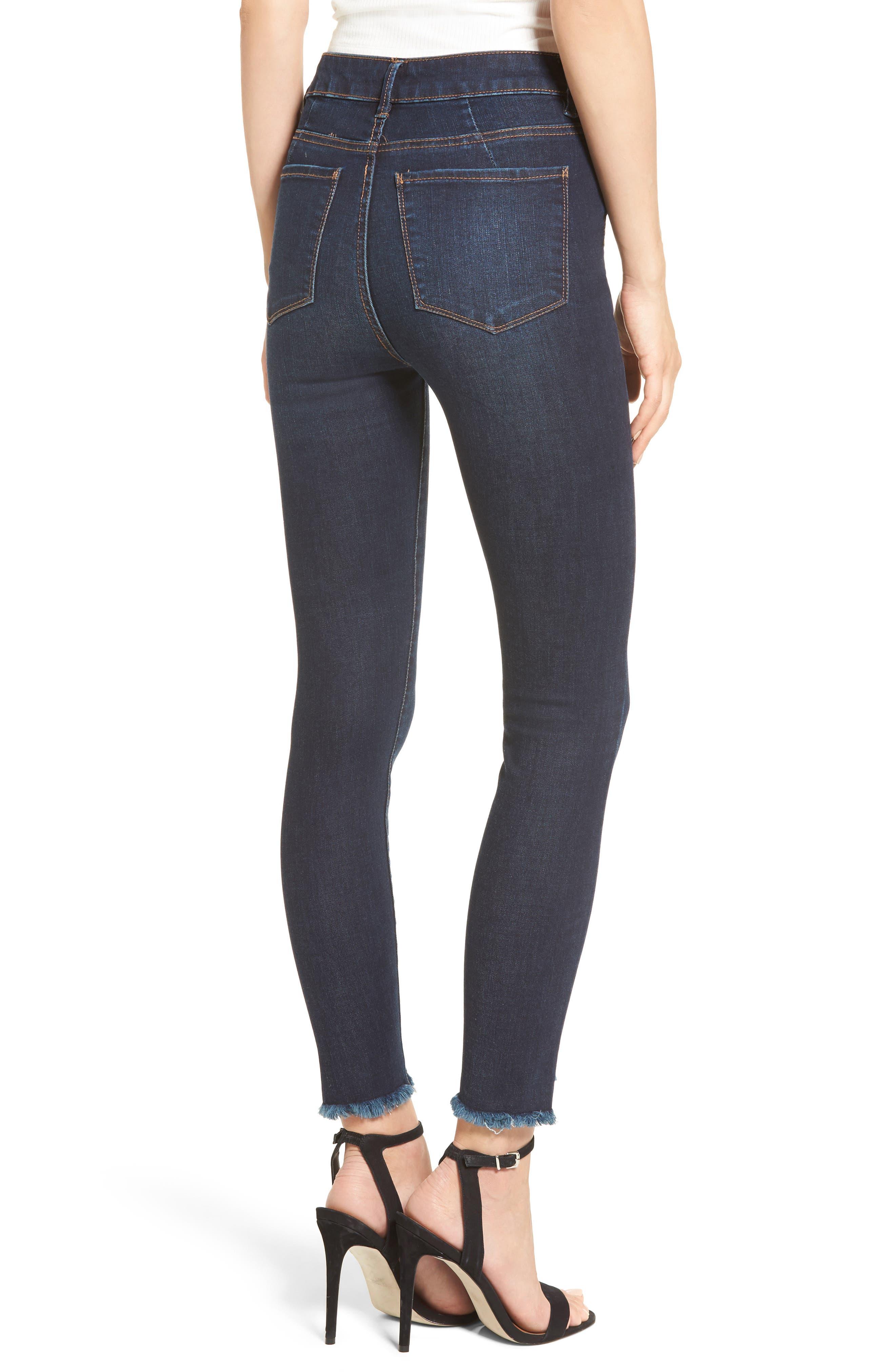 Alternate Image 2  - AFRM Clark High Waist Skinny Jeans (Rebel Wash)