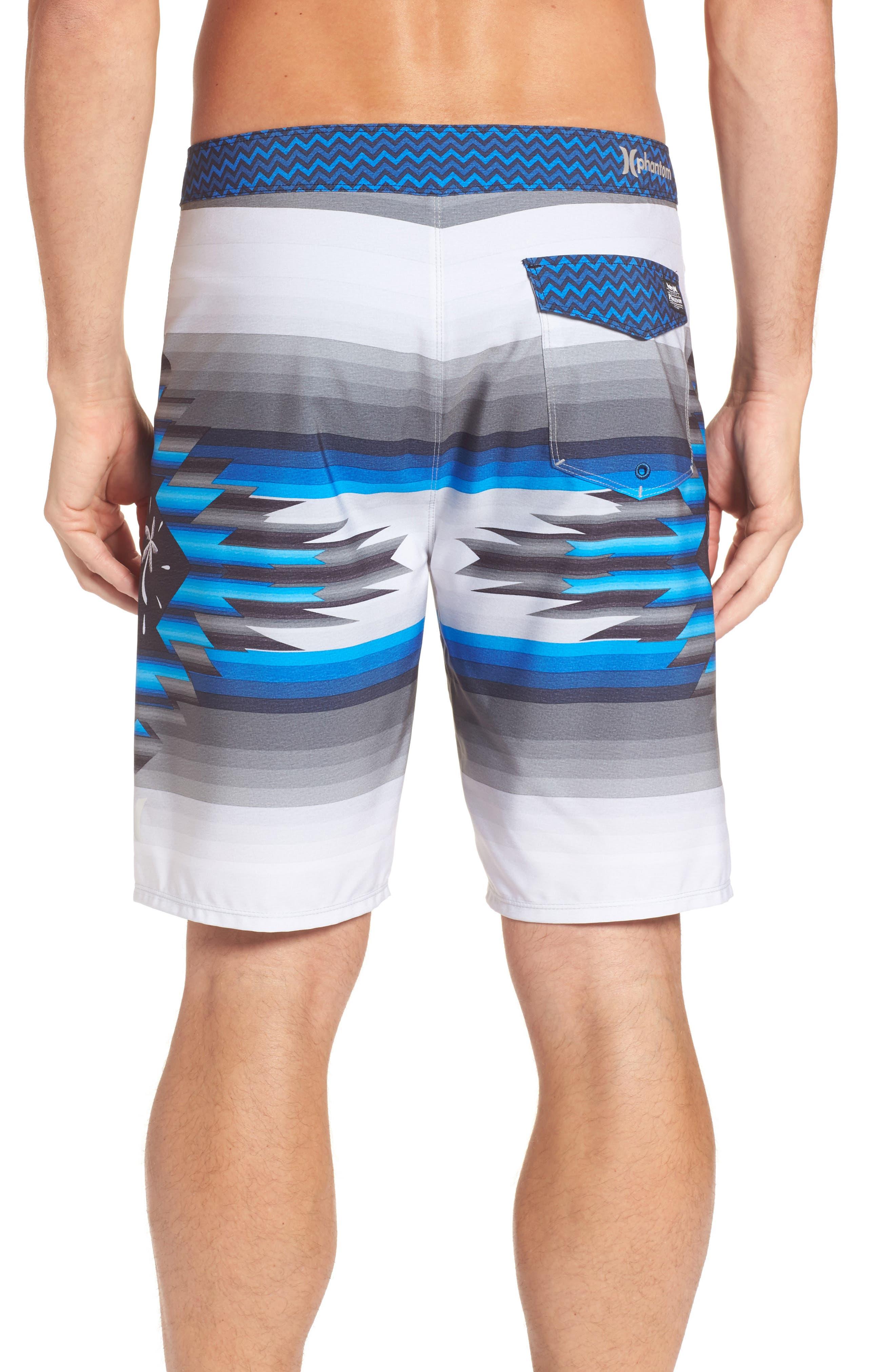 Alternate Image 2  - Hurley x Pendleton Phantom Board Shorts