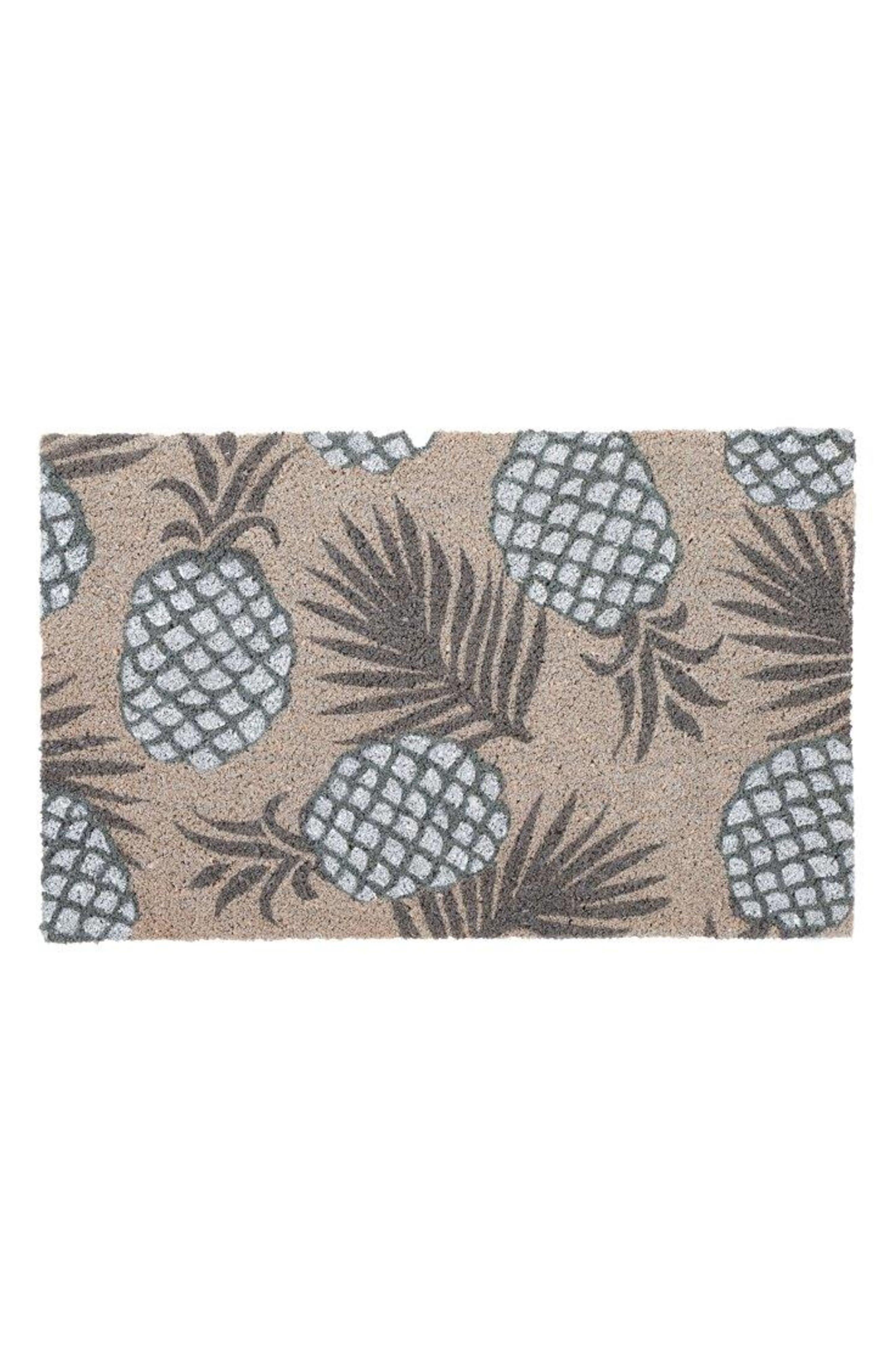 Pineapple Door Mat,                         Main,                         color, Multi