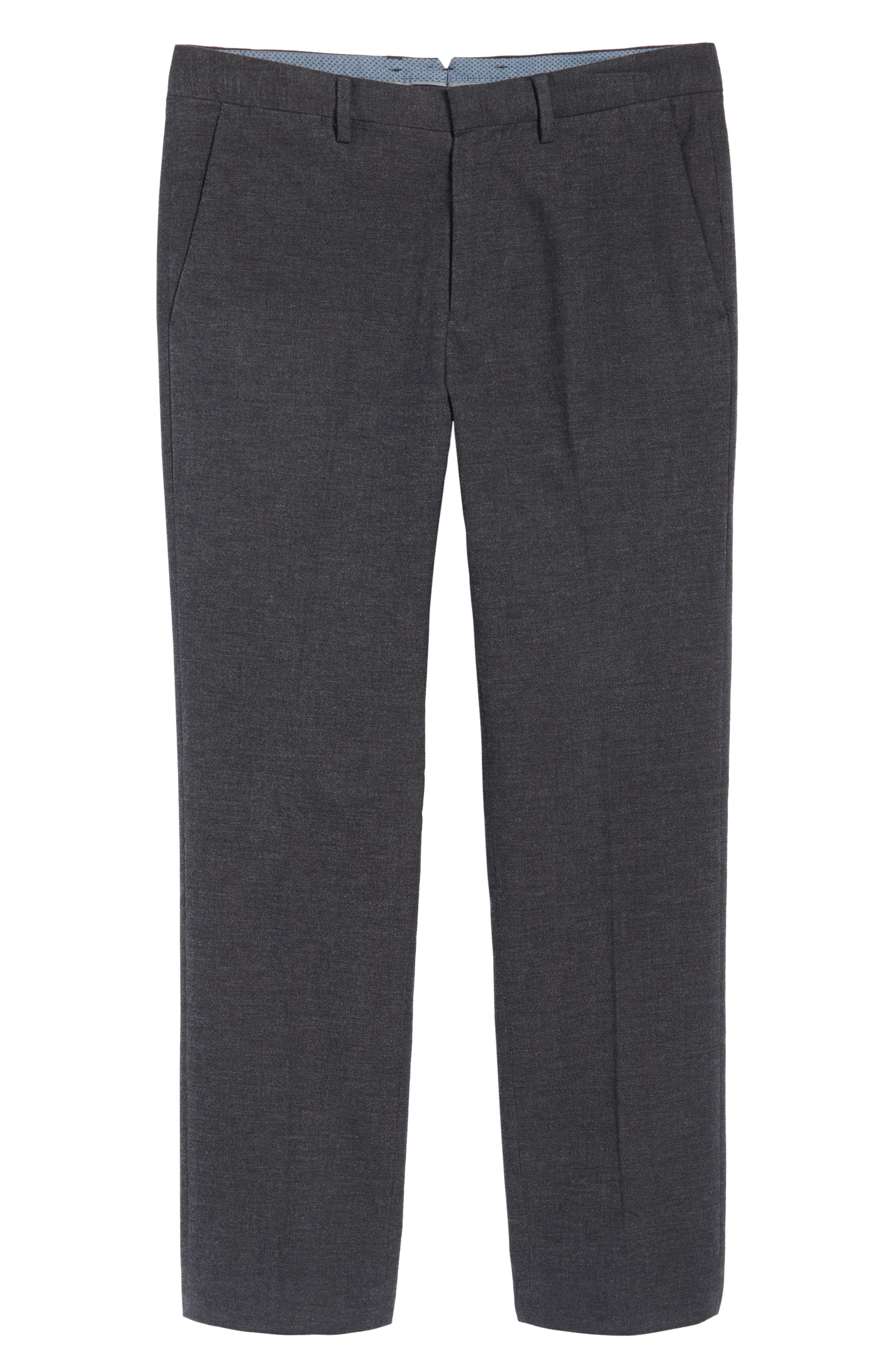 Alternate Image 6  - Bonobos Foundation Slim Fit Trousers