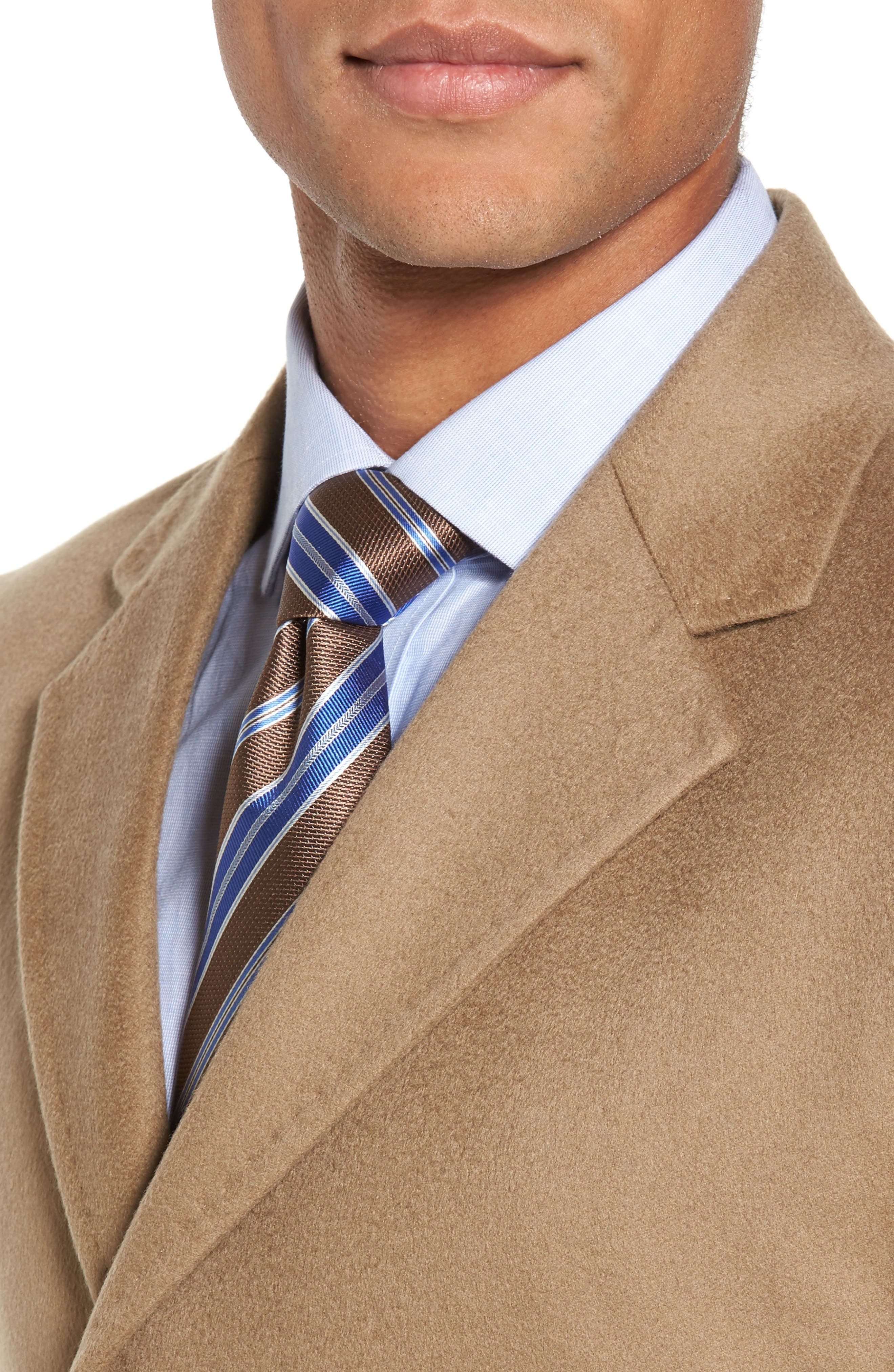 Alternate Image 4  - Monte Rosso Carter Classic Fit Cashmere Overcoat