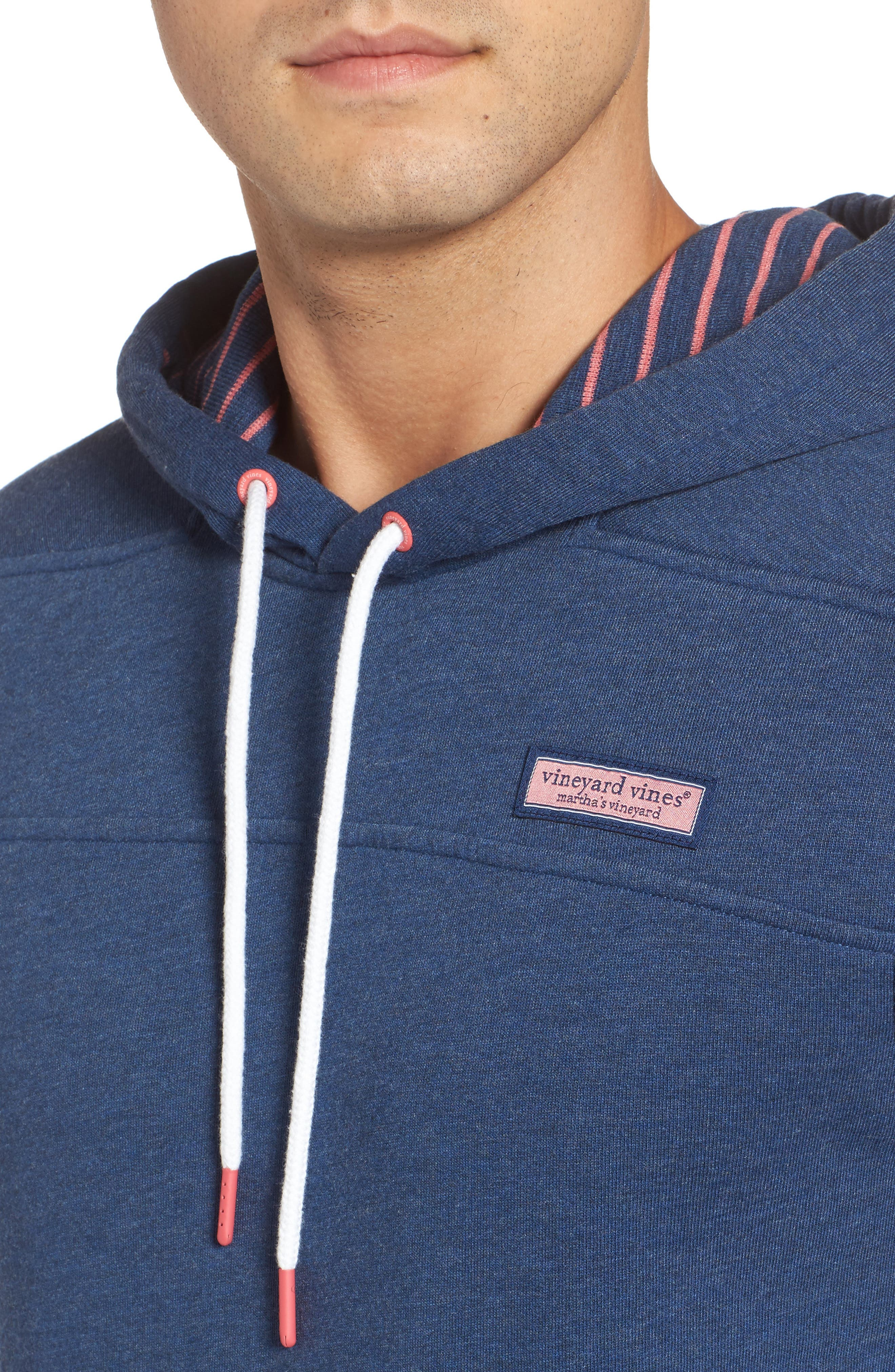 Alternate Image 4  - vineyard vines Washed Cotton Pullover Hoodie
