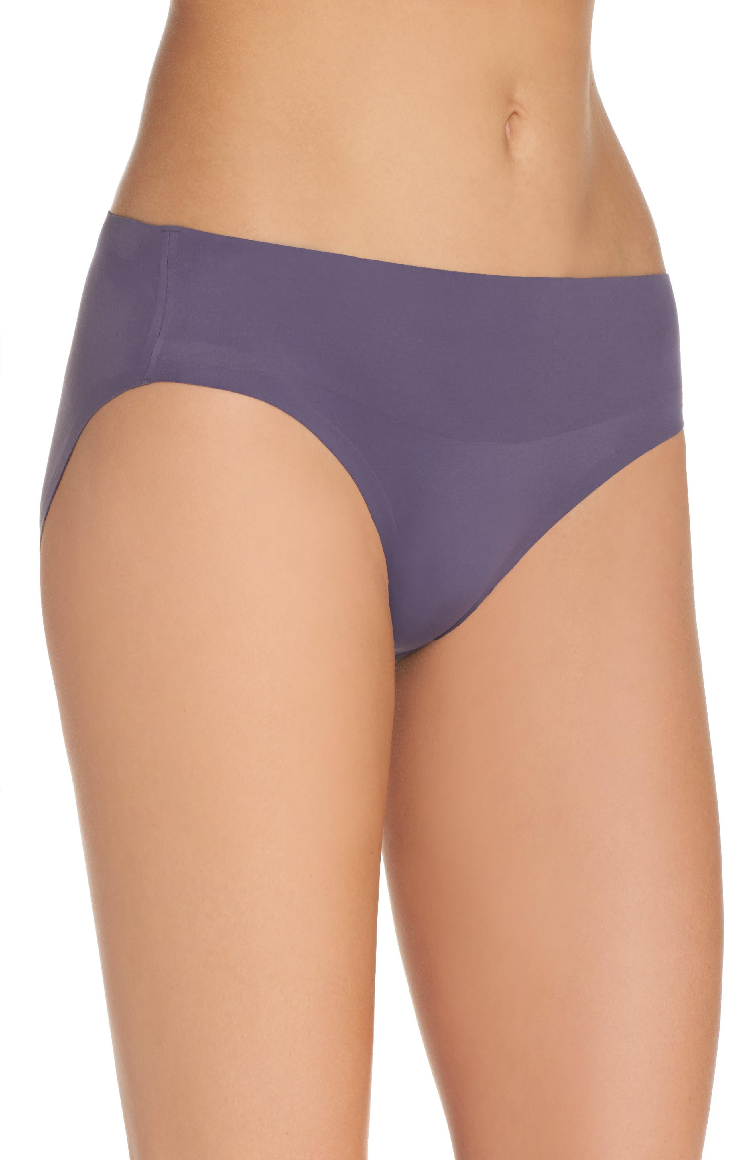 Undie-tectable B'tweenie Panty,                             Alternate thumbnail 3, color,                             Oxidized Purple