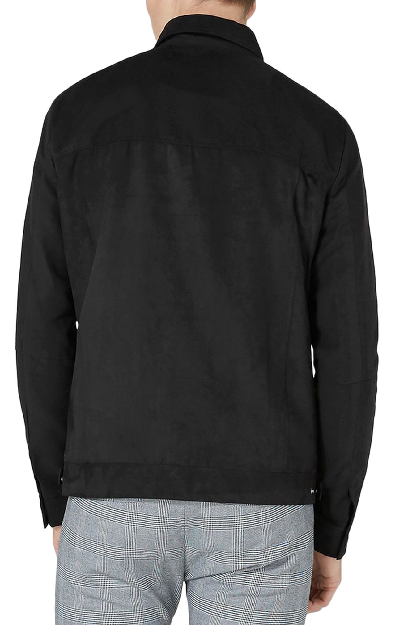 Alternate Image 2  - Topman Harrington Jacket