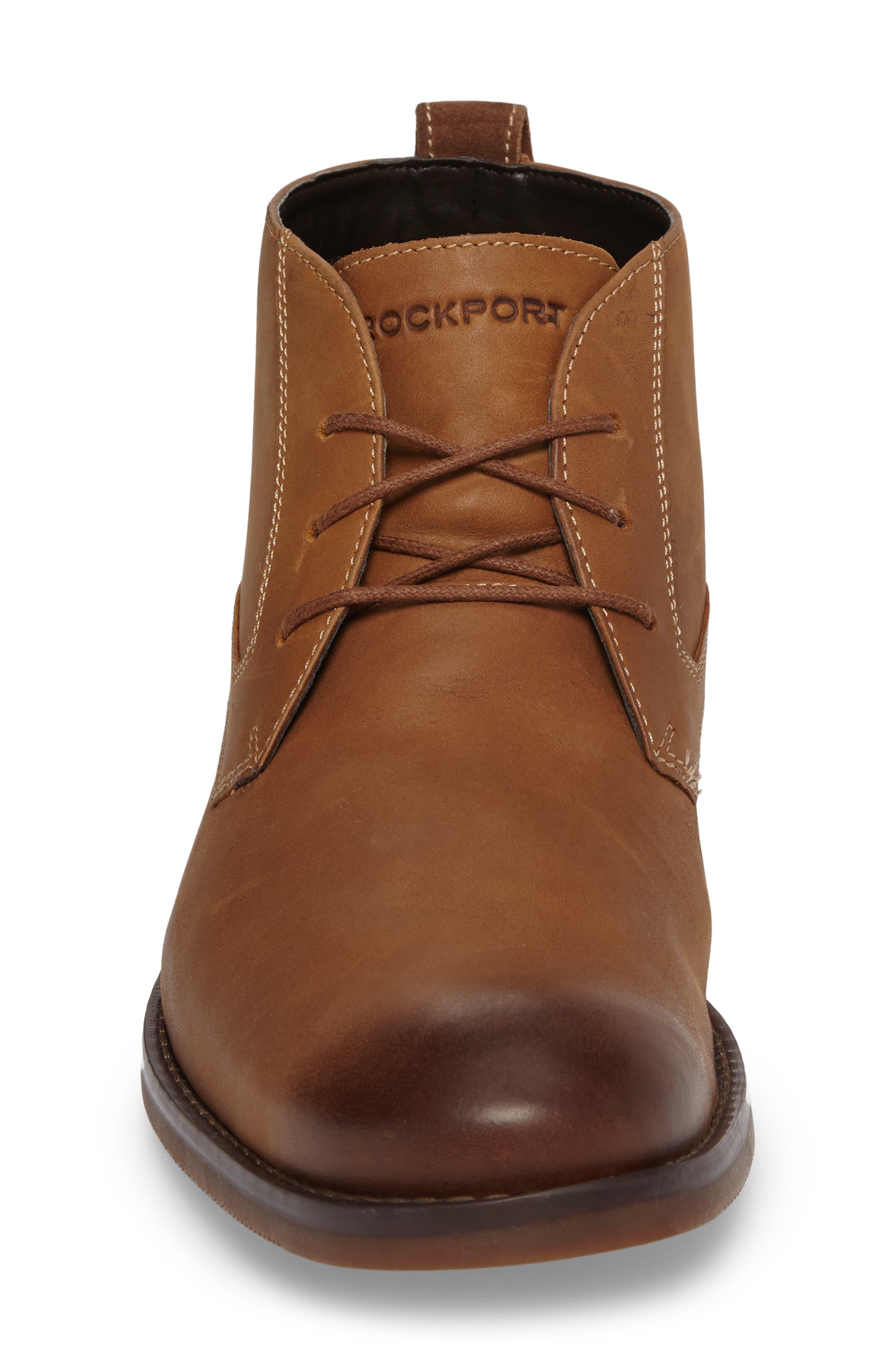 Wynstin Chukka Boot,                             Alternate thumbnail 5, color,                             Tobacco Leather