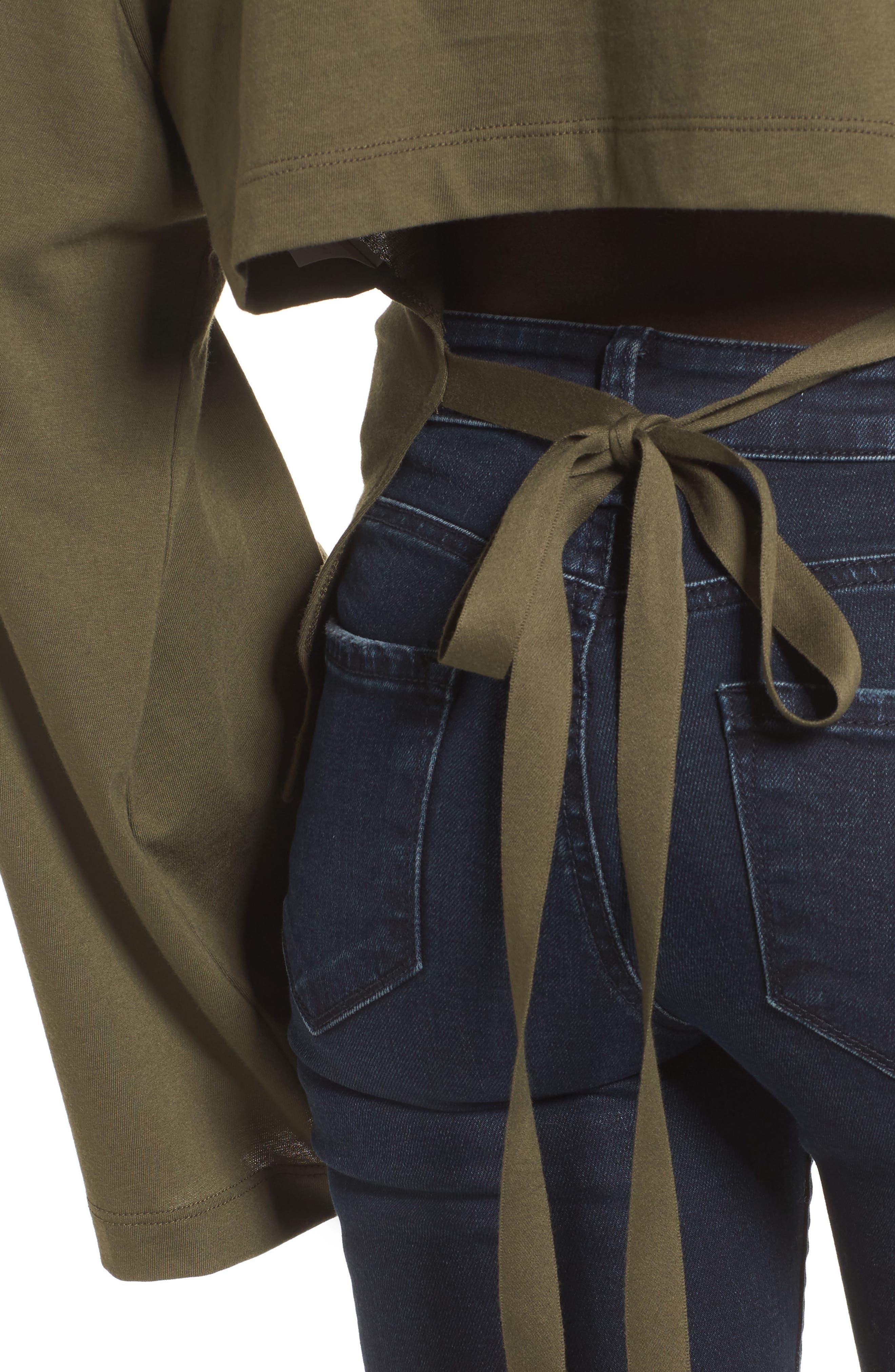 Alternate Image 4  - Tie Back Bell Sleeve Top