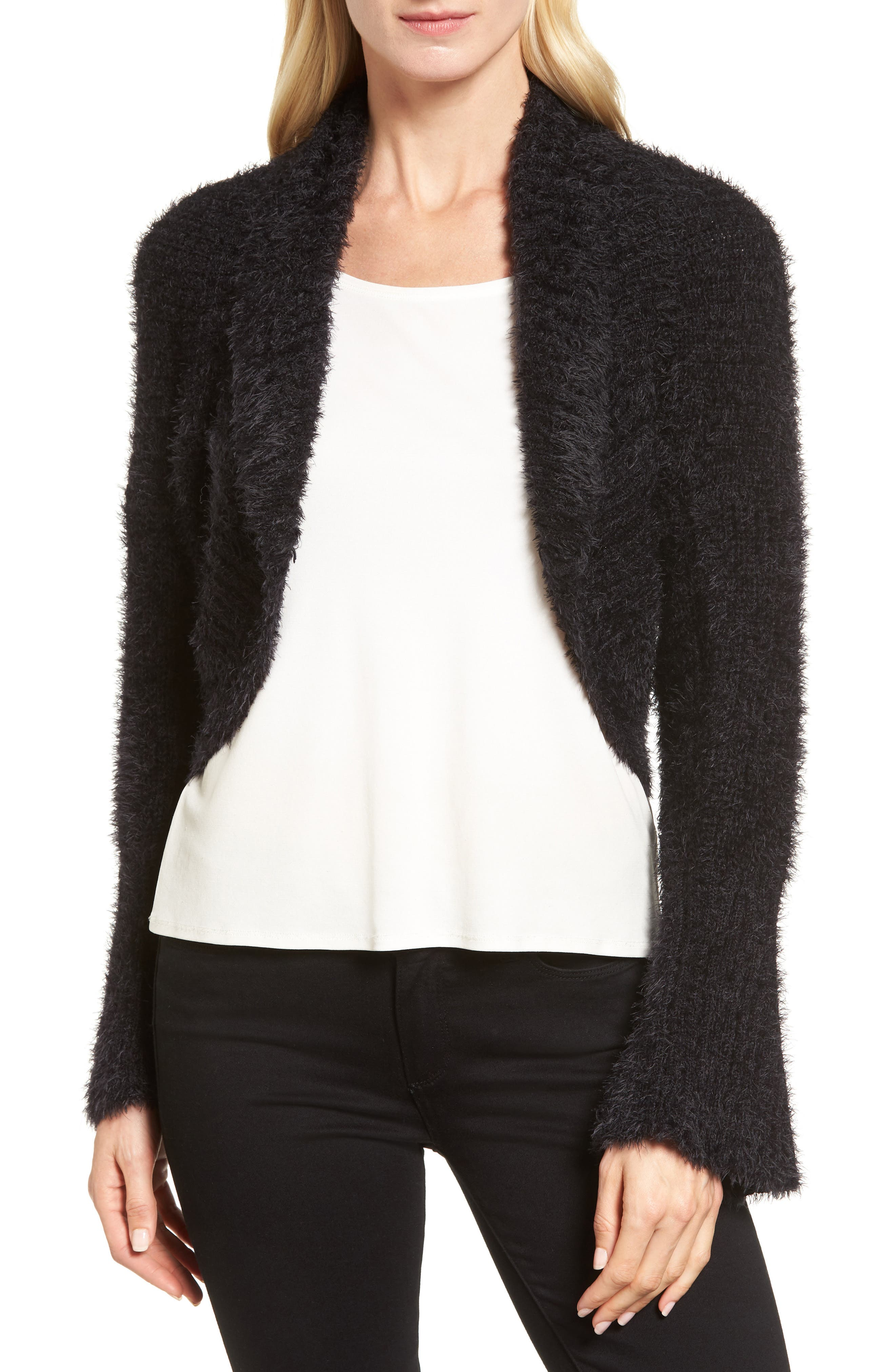 Alternate Image 1 Selected - NIC+ZOE Glacier Cardigan (Regular & Petite)