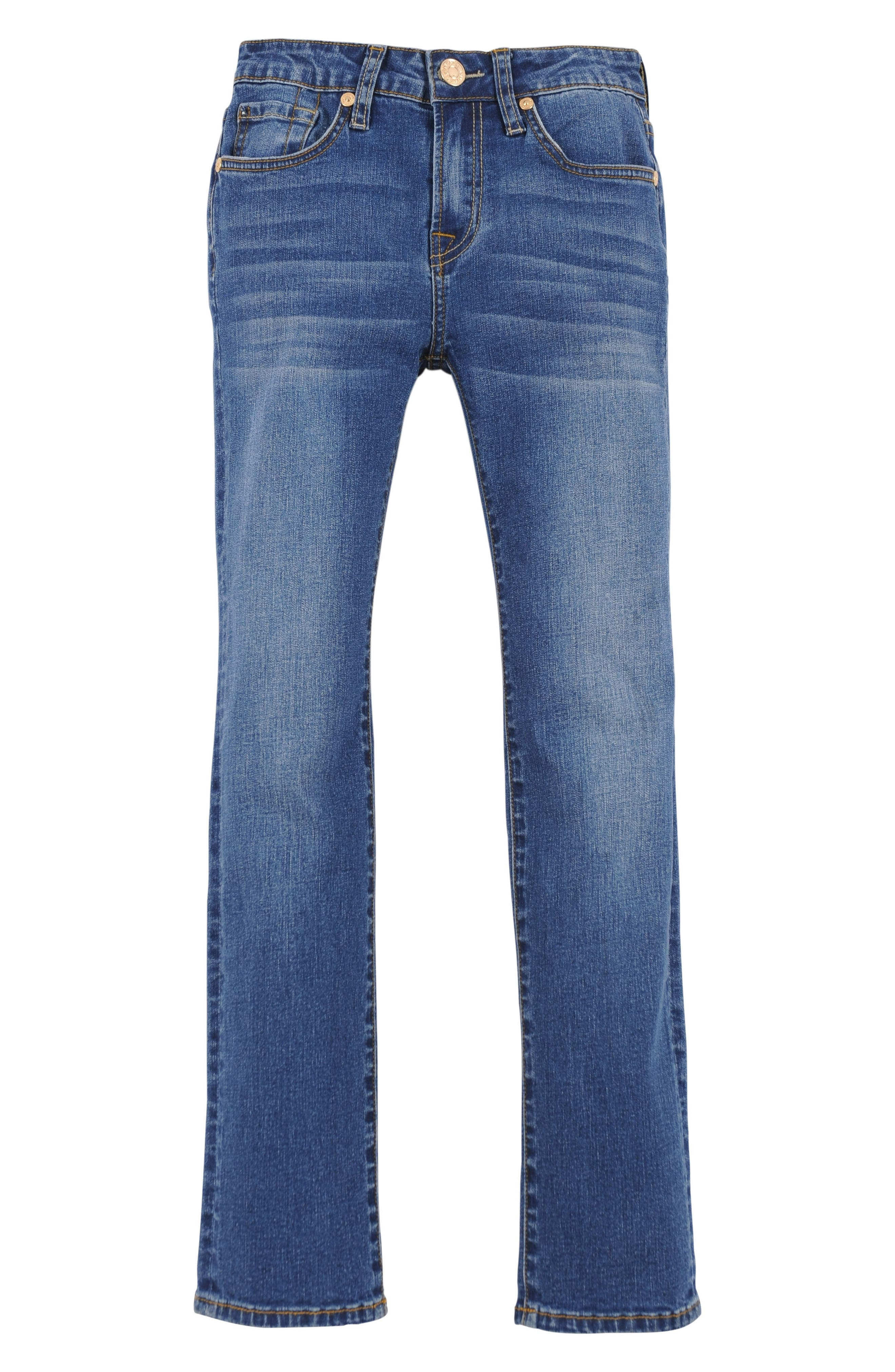 Main Image - 7 For All Mankind® Slimmy Foolproof Slim Fit Jeans (Little Boys)