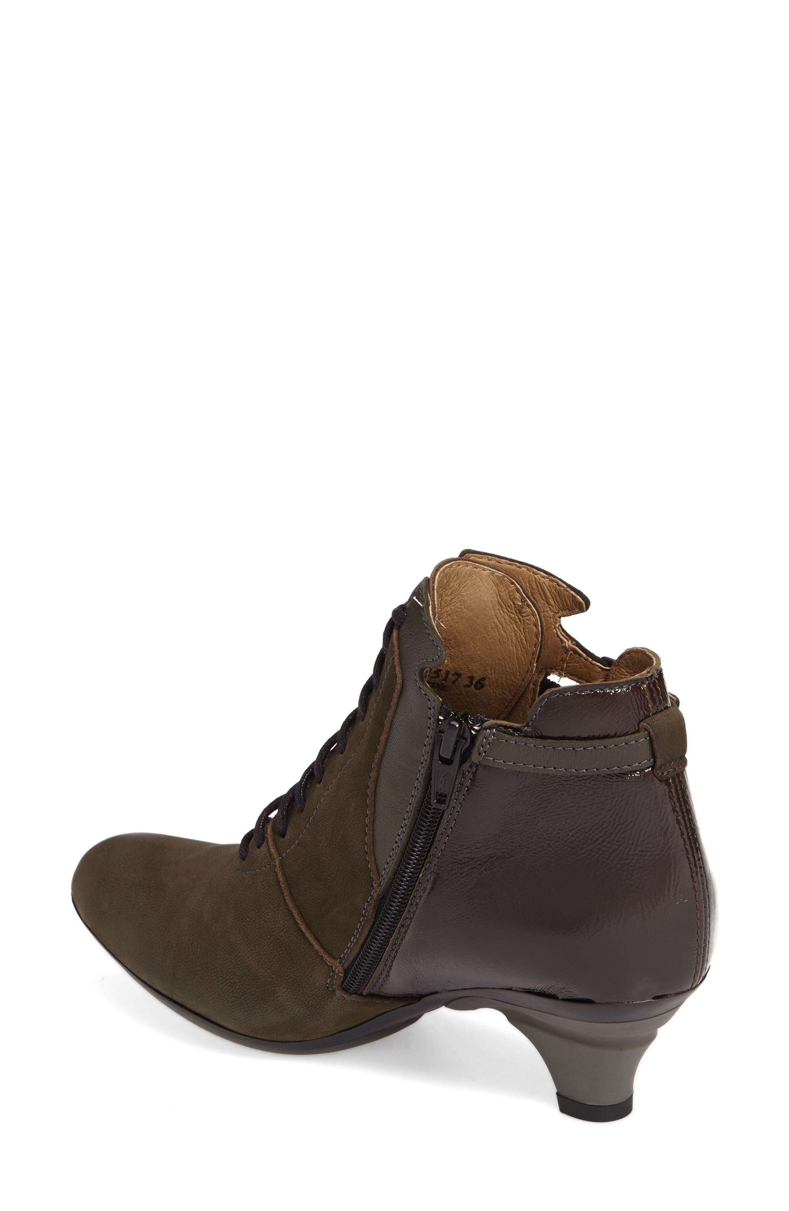 Bugs Bootie,                             Alternate thumbnail 2, color,                             Seaweed Leather