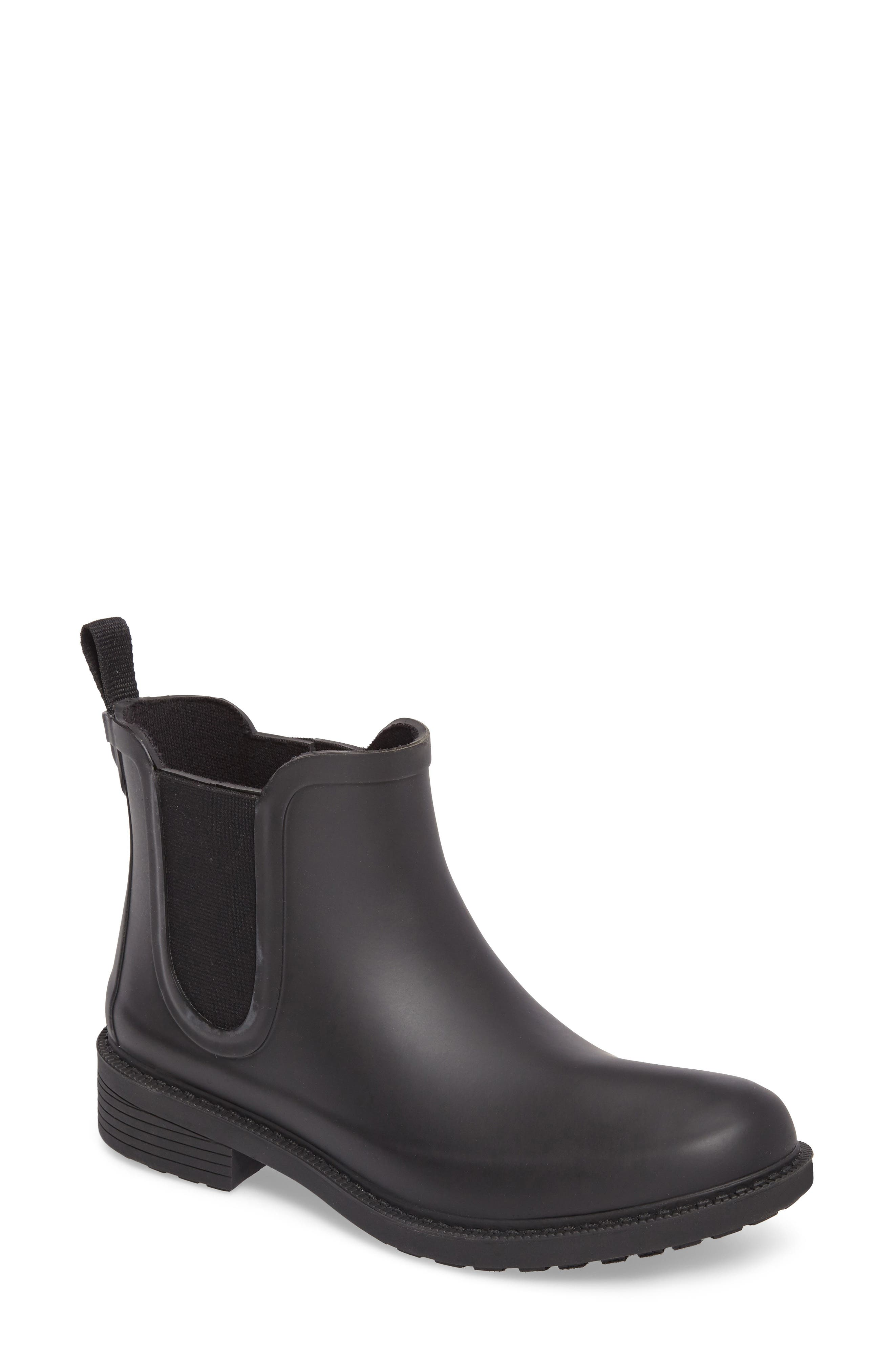 Madewell Waterproof Chelsea Rain Boot (Women)