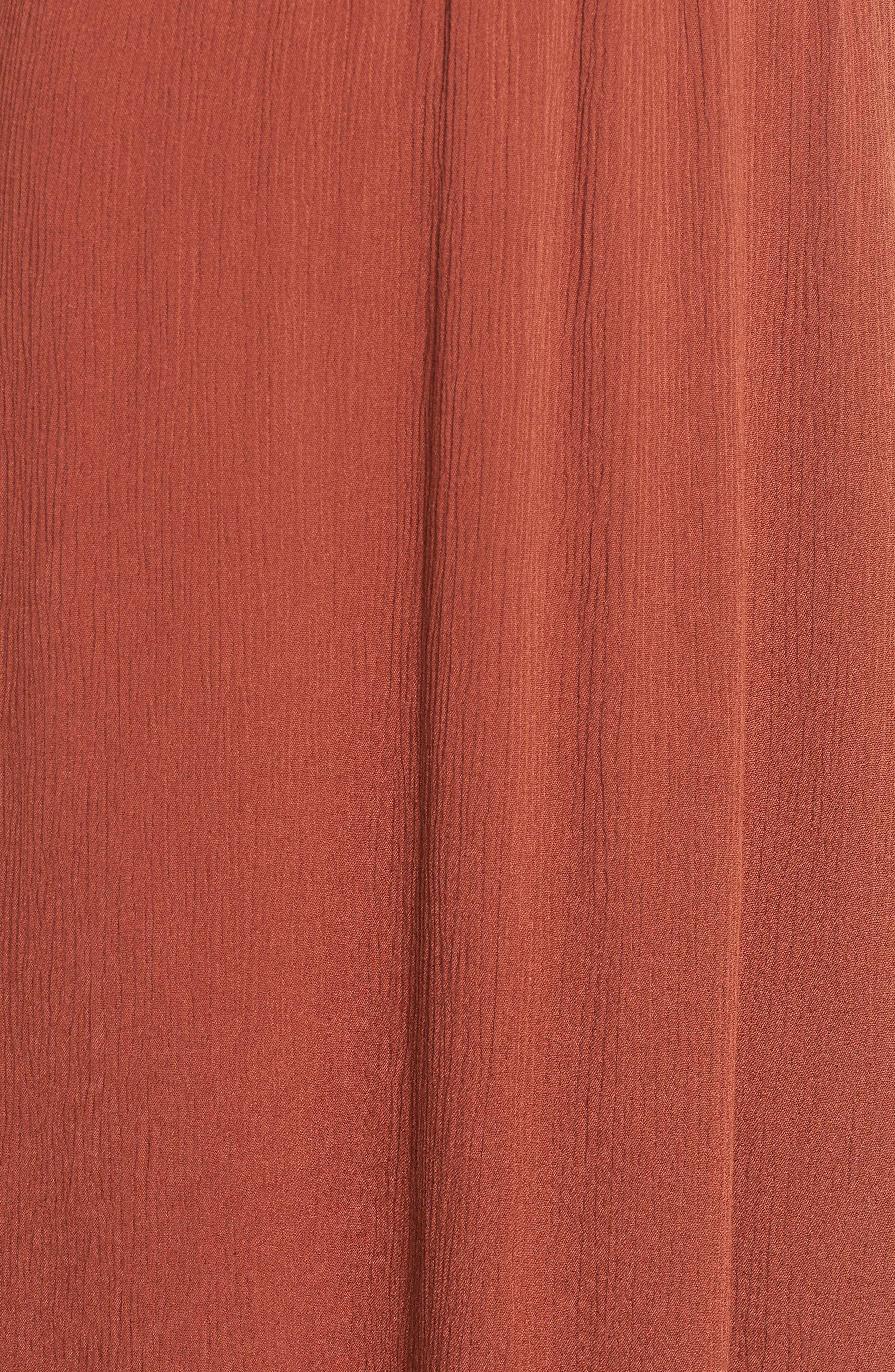 Alternate Image 5  - WAYF Blouson Midi Dress