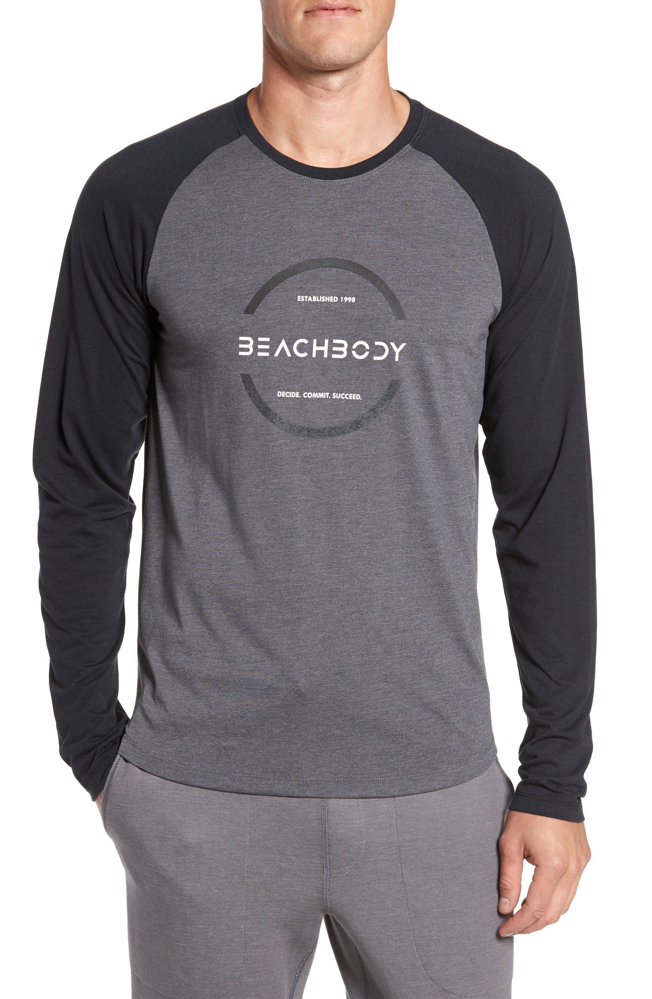 Main Image - Beachbody Go-To Infinity Long Sleeve T-Shirt