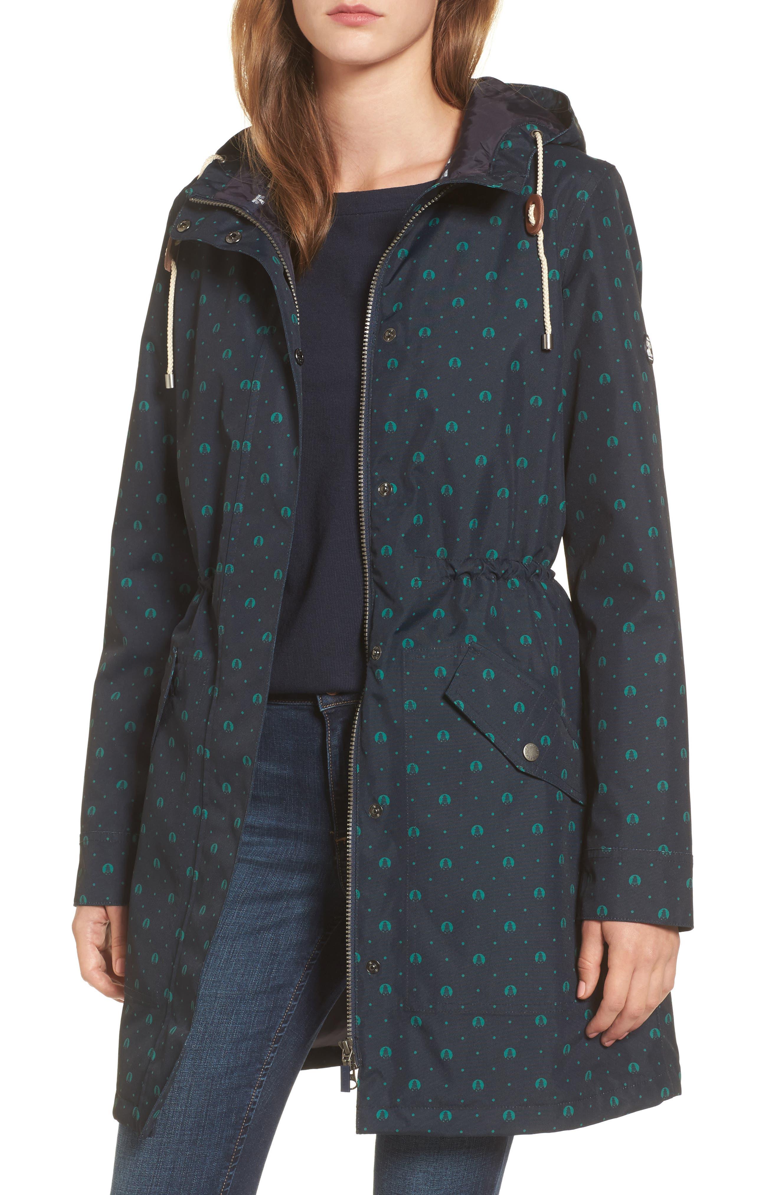 Decoy Anorak Jacket,                         Main,                         color, Navy / Evergreen Beacon S