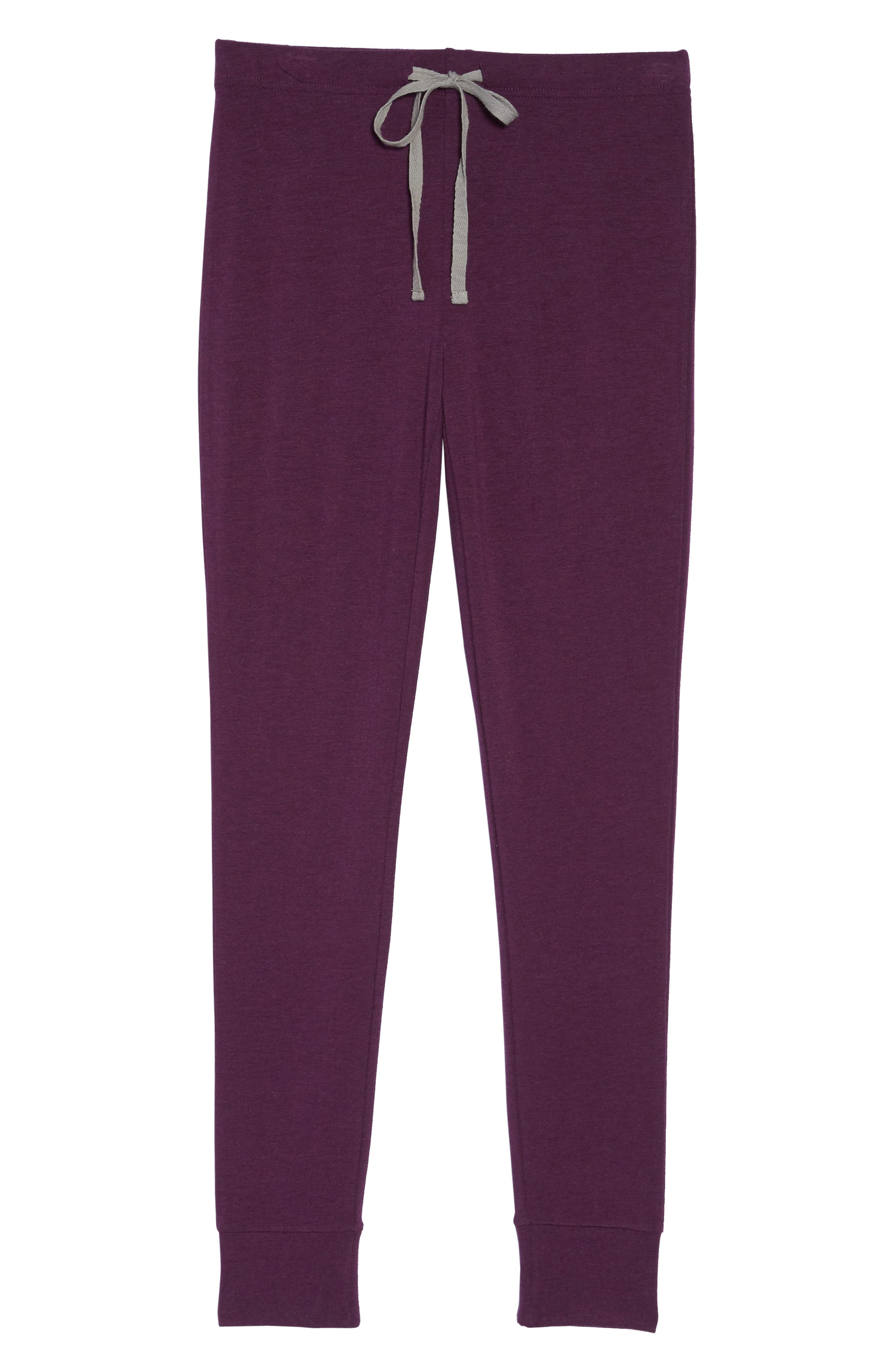 Alternate Image 6  - Honeydew Intimates French Terry Lounge Pants
