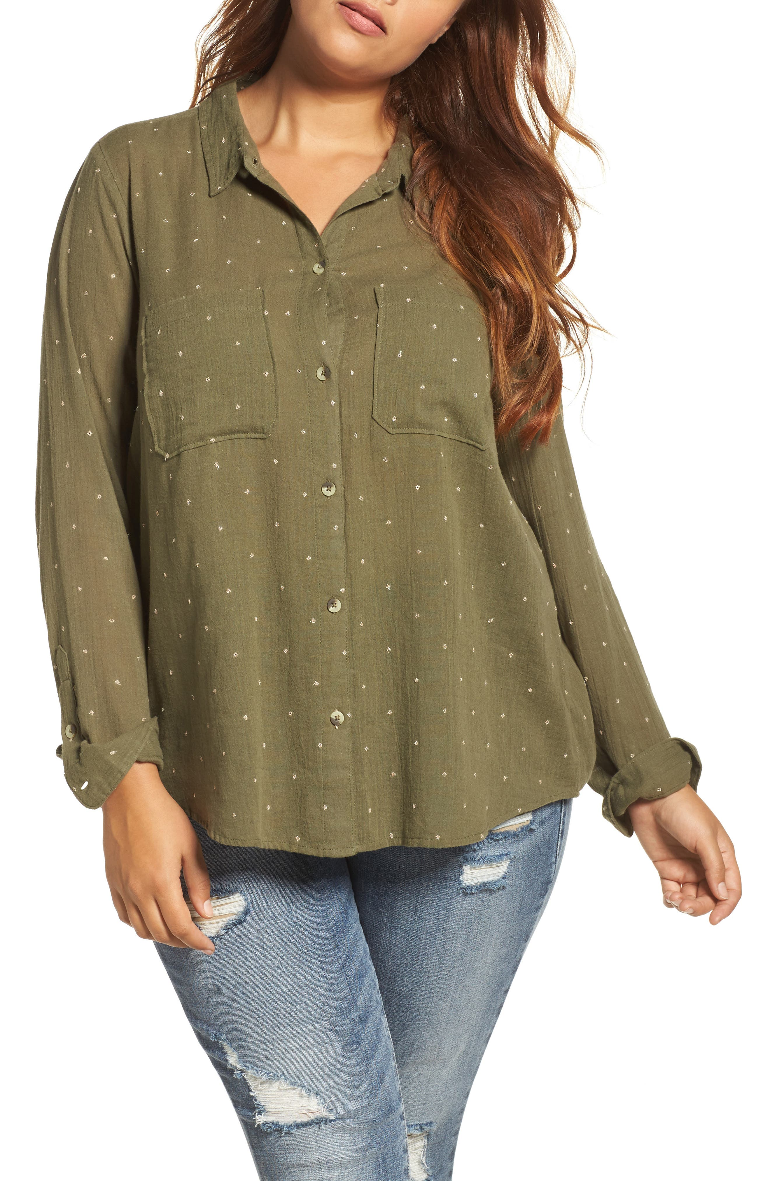 Lucky Brand Lucky You Shirt (Plus Size)