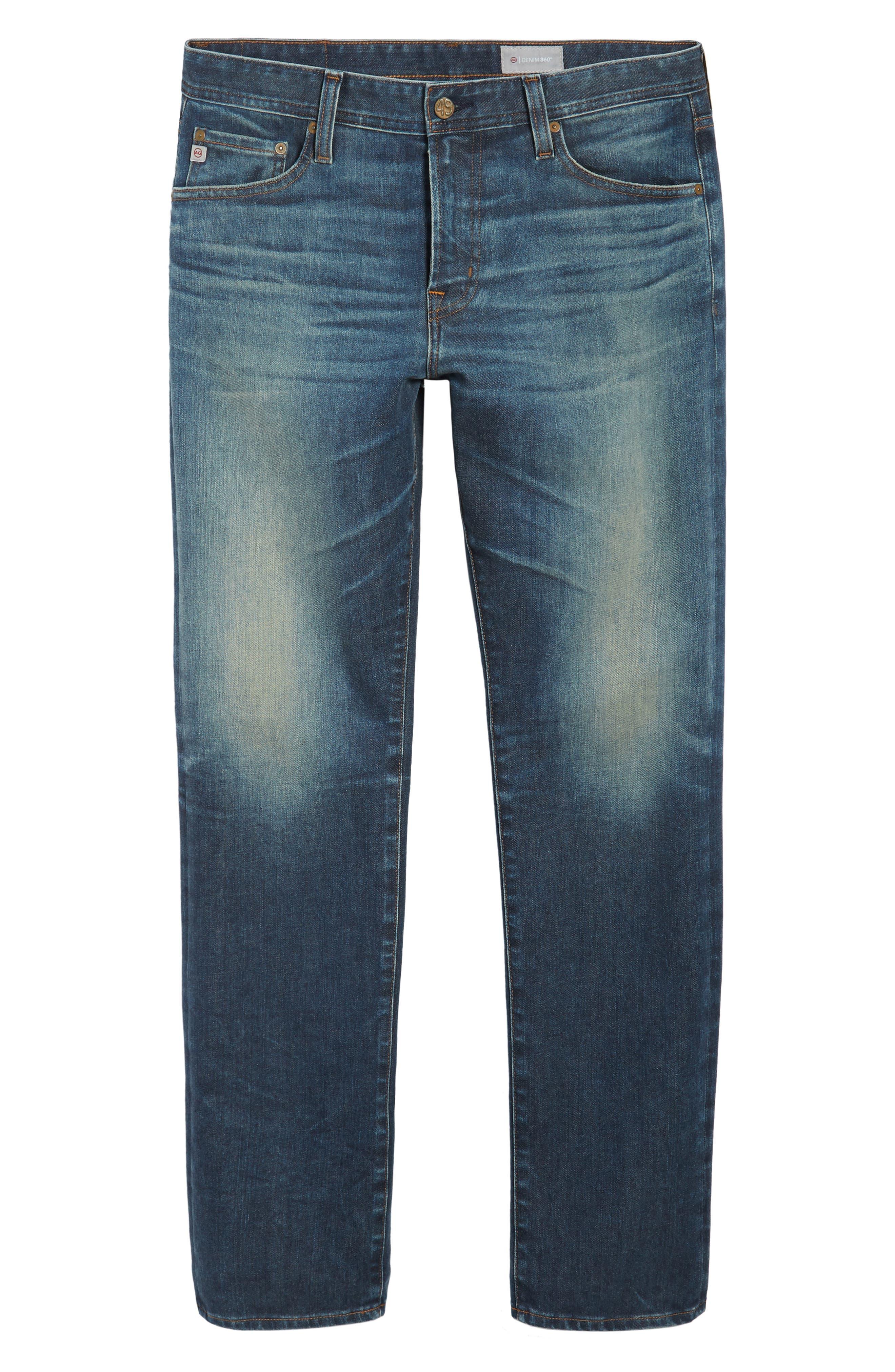 Alternate Image 6  - AG Everett Slim Straight Leg Jeans (12 Years River Veil)
