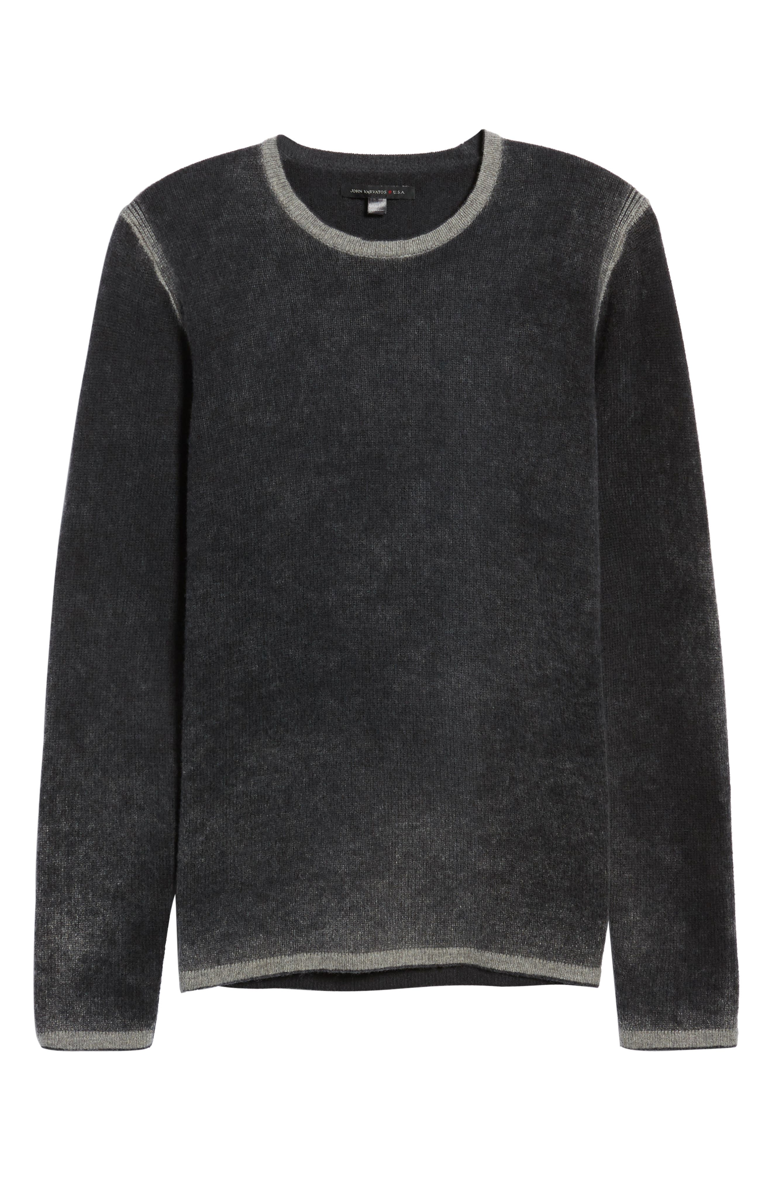 Alternate Image 6  - John Varvatos Star USA Drop Shoulder Sweater