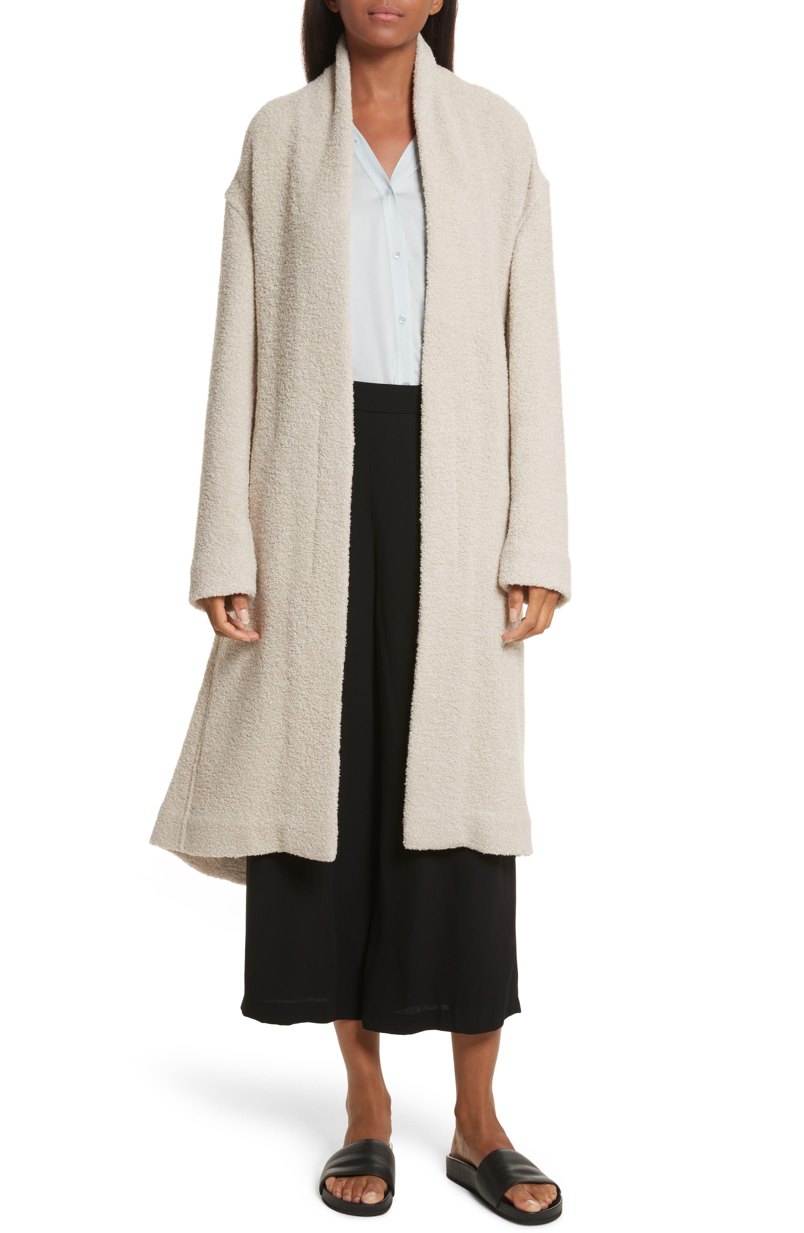Main Image - Vince Belted Wool Blend Coat