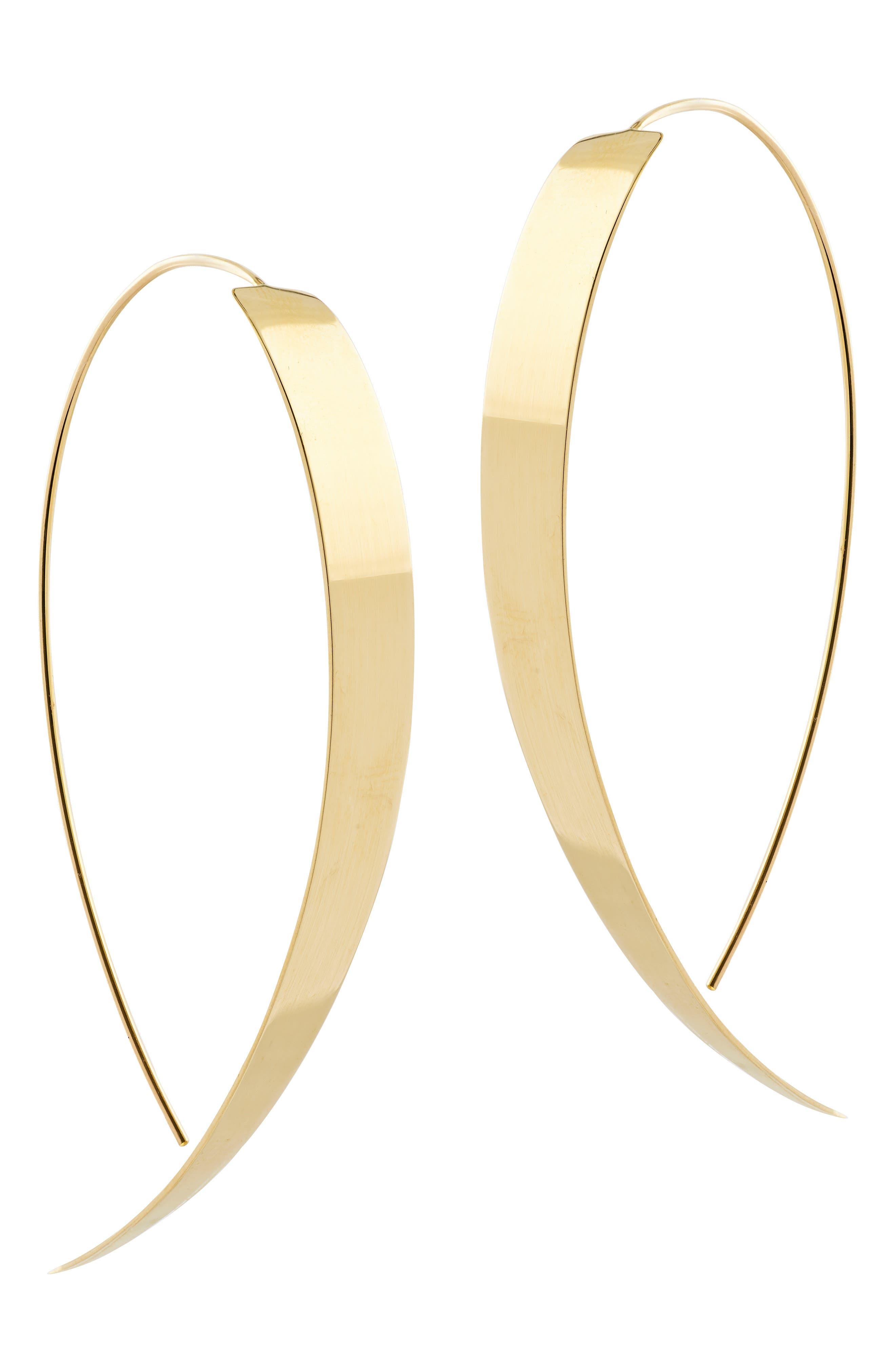 Main Image - Lana Jewelry Large Vanity Threader Hoops