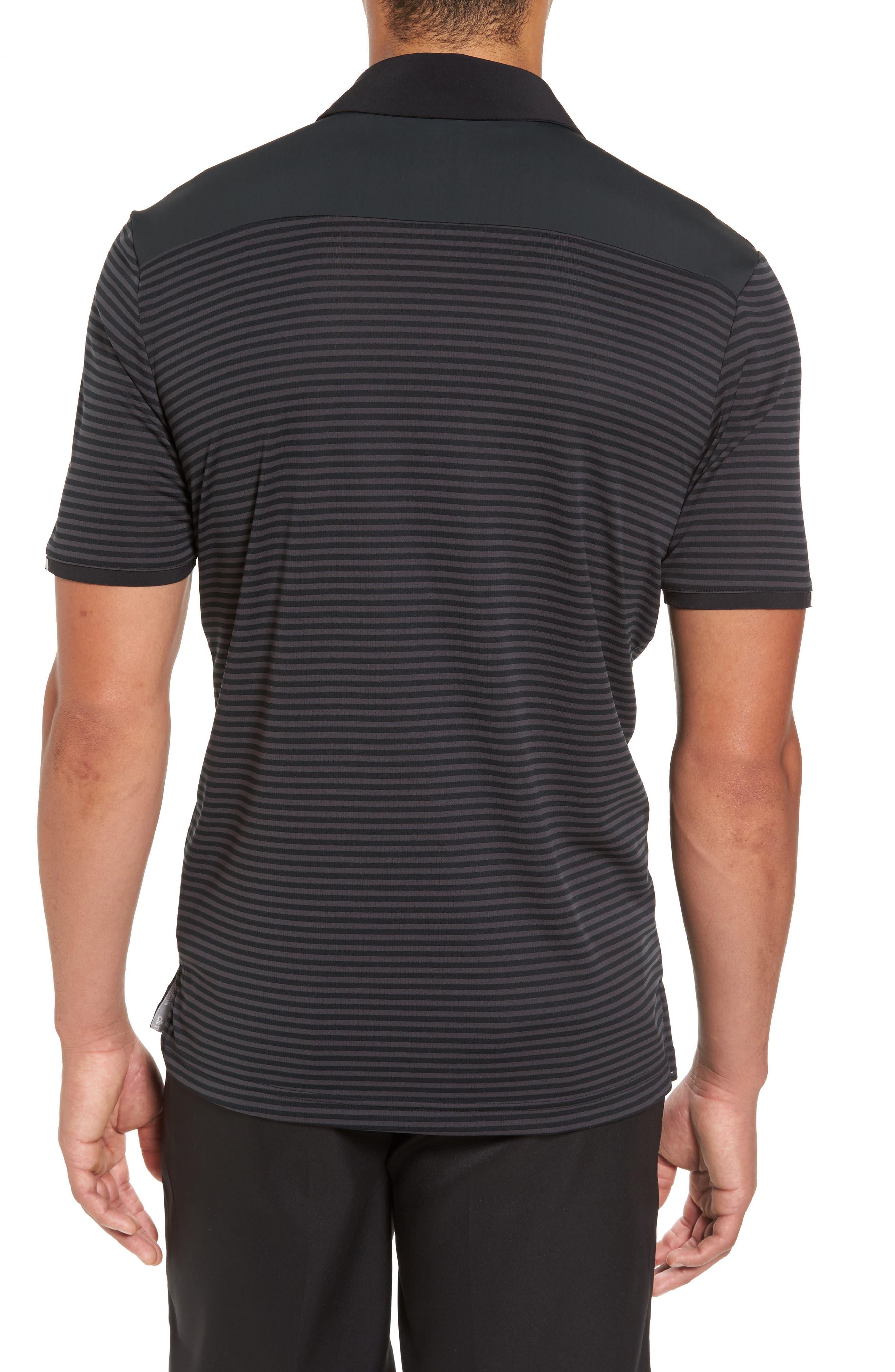 Alternate Image 2  - adidas Climachill® Stripe Golf Polo
