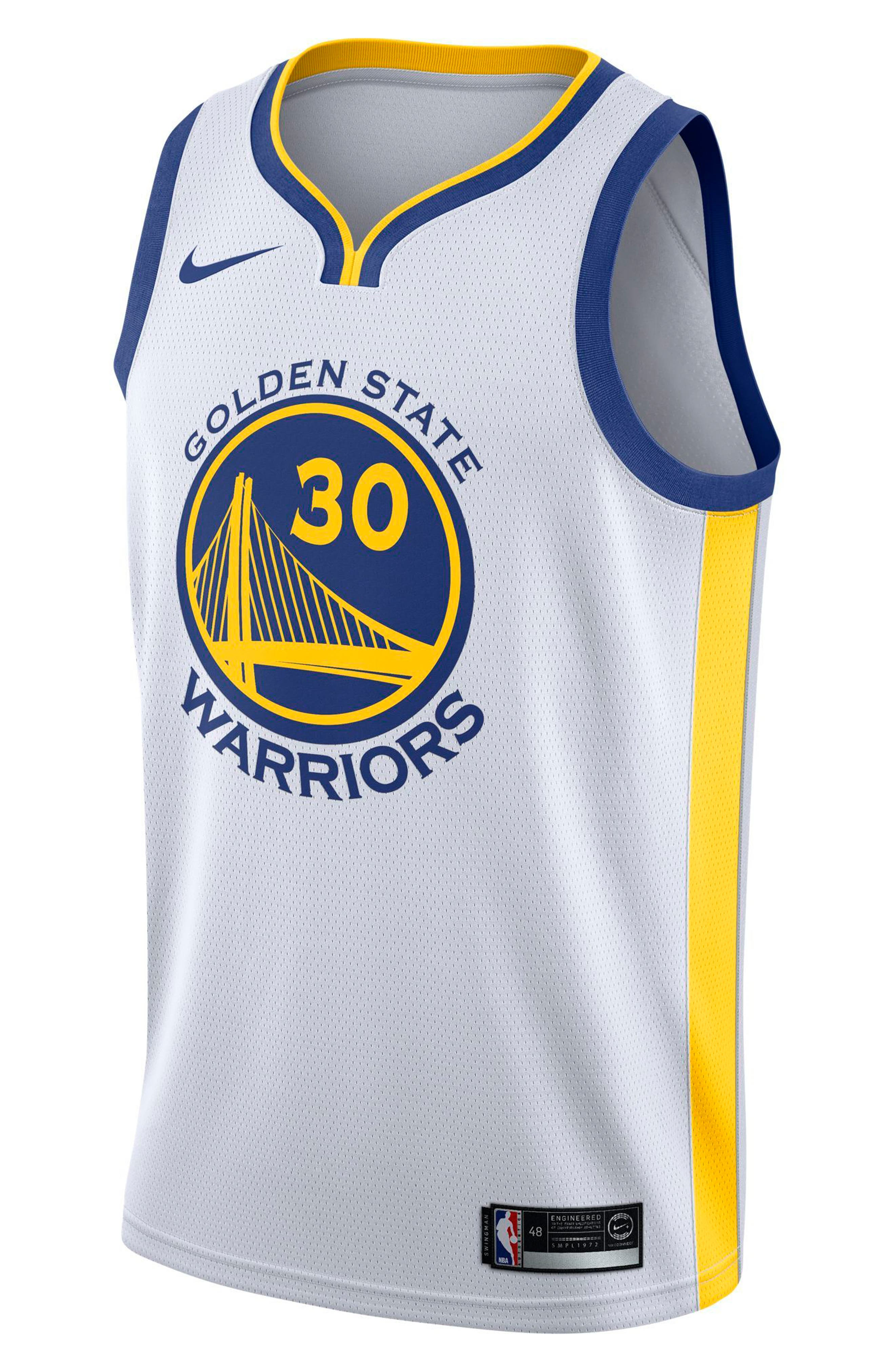 Alternate Image 1 Selected - Nike Golden State Warriors Nike Association Edition Swingman Men's NBA Jersey