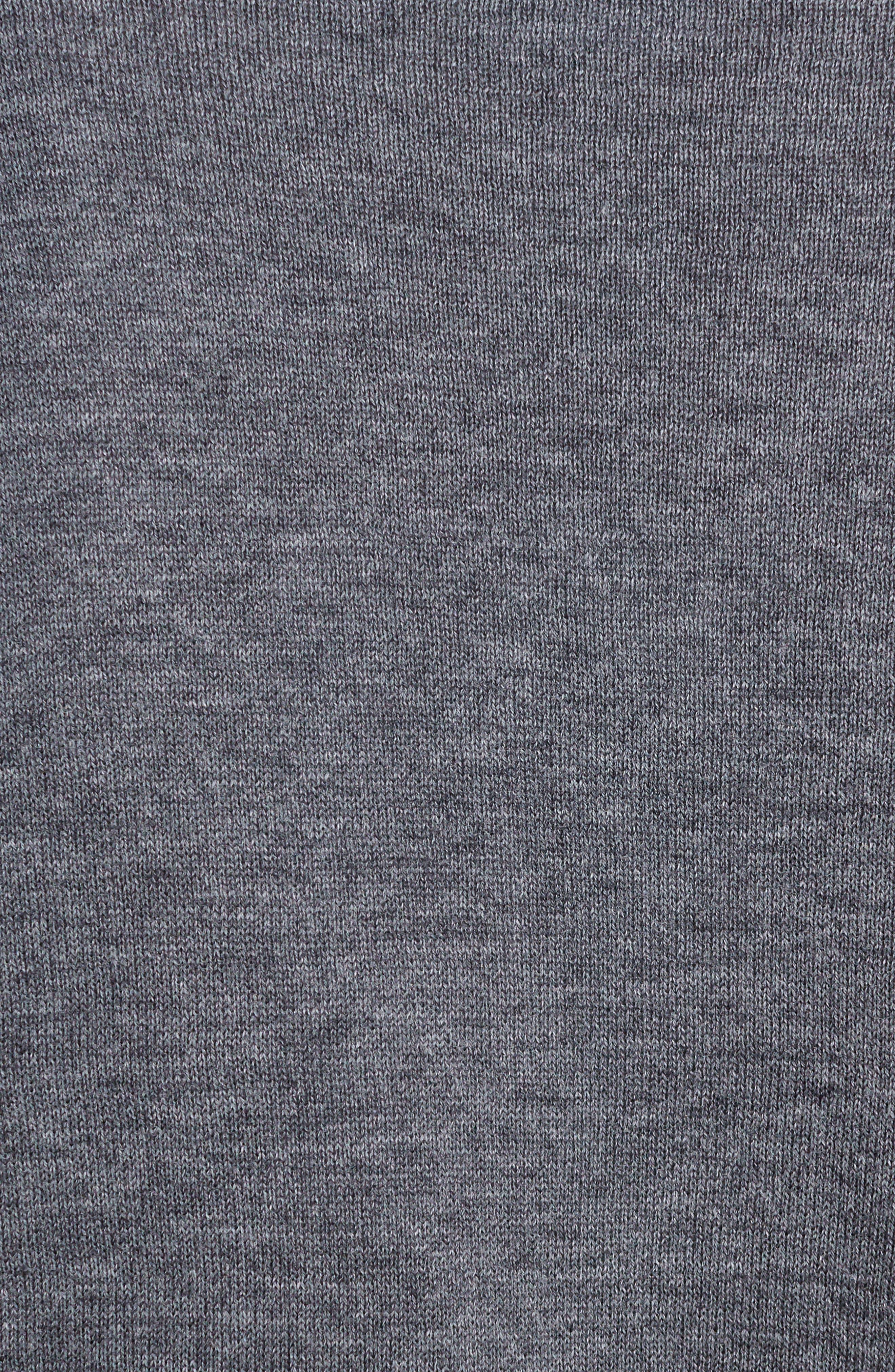 Alternate Image 5  - TOGA Check Tier Sleeve Sweater