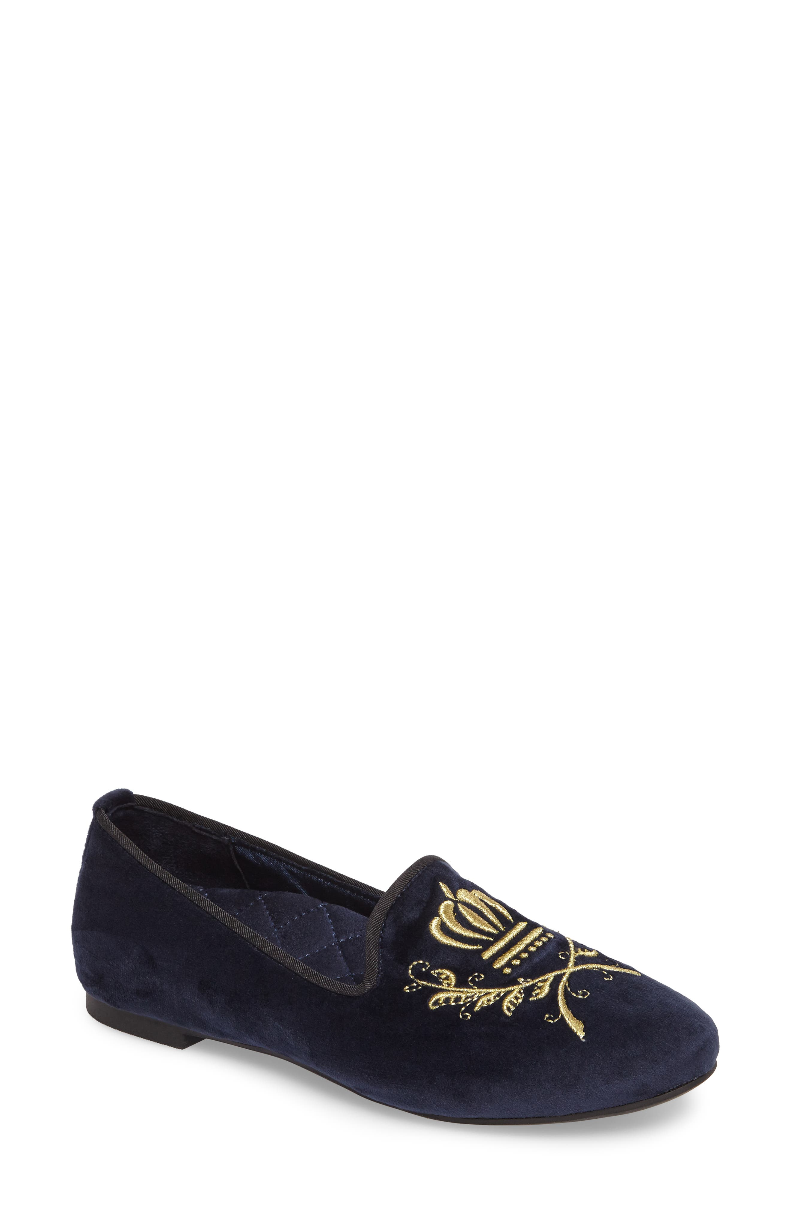 Alternate Image 1 Selected - Vionic Romi Embroidered Flat (Women)