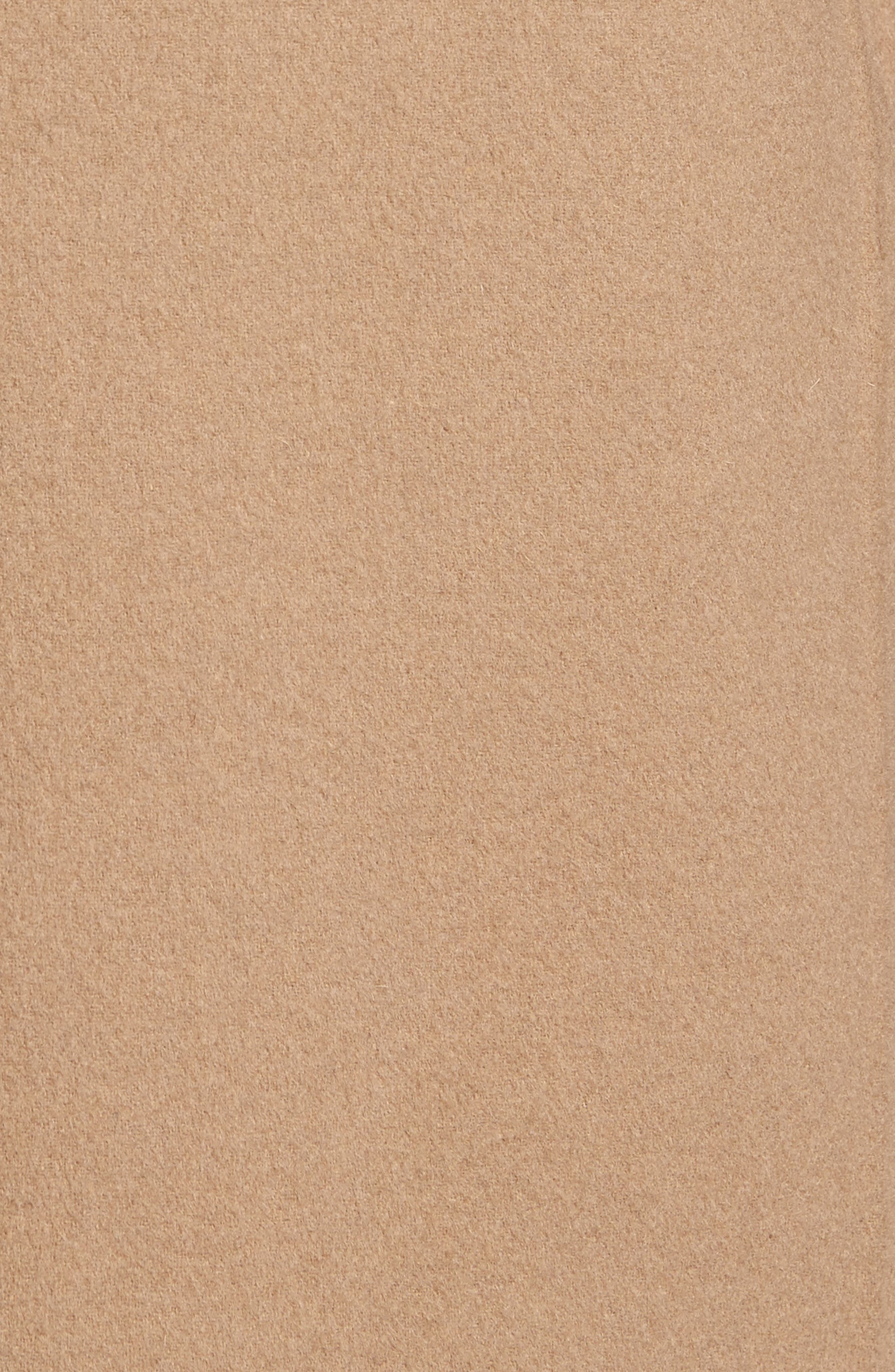 Wool Blend Topcoat,                             Alternate thumbnail 6, color,                             Camel