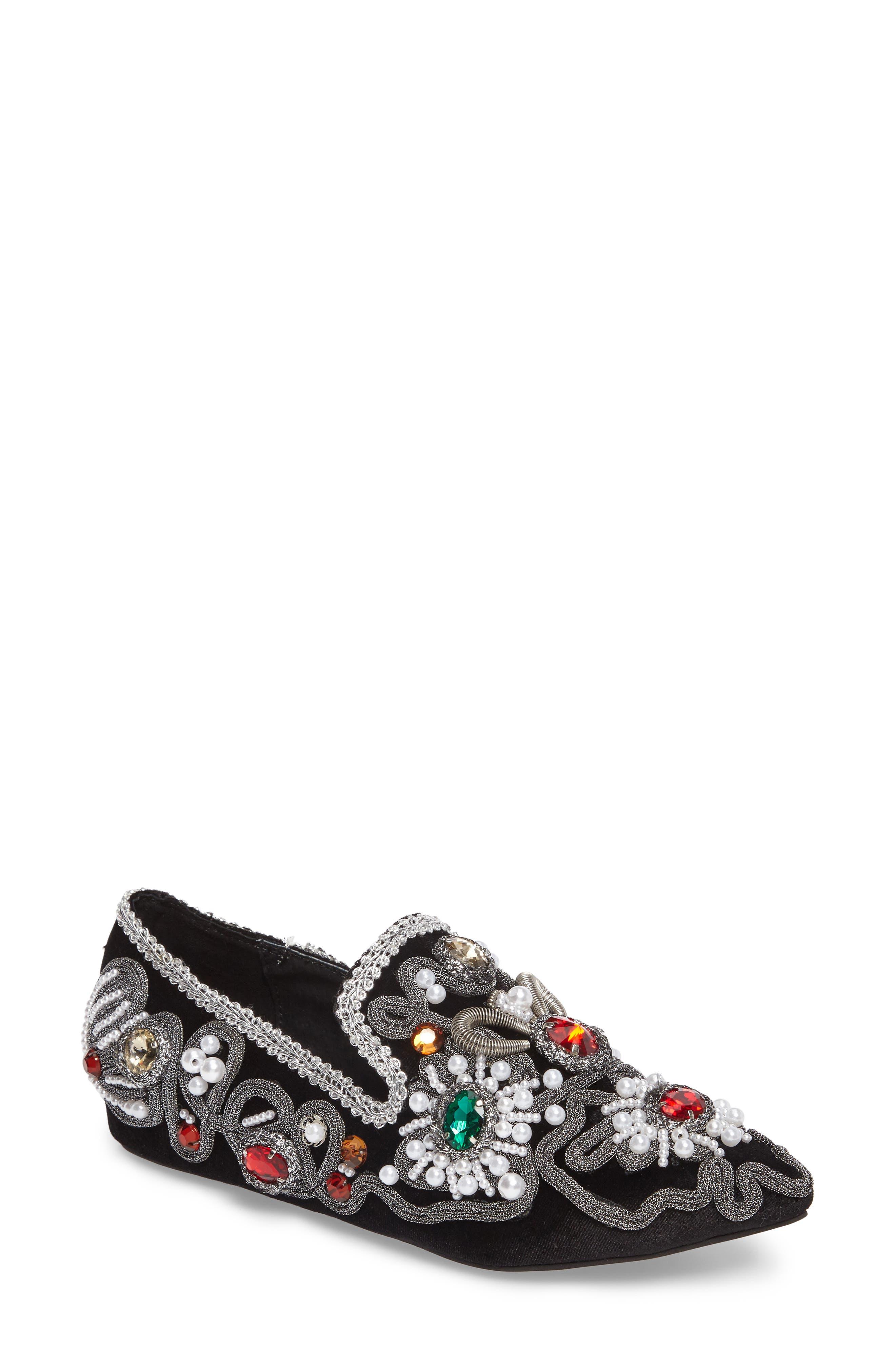 Jeffrey Campbell Horatio Embellished Loafer (Women)