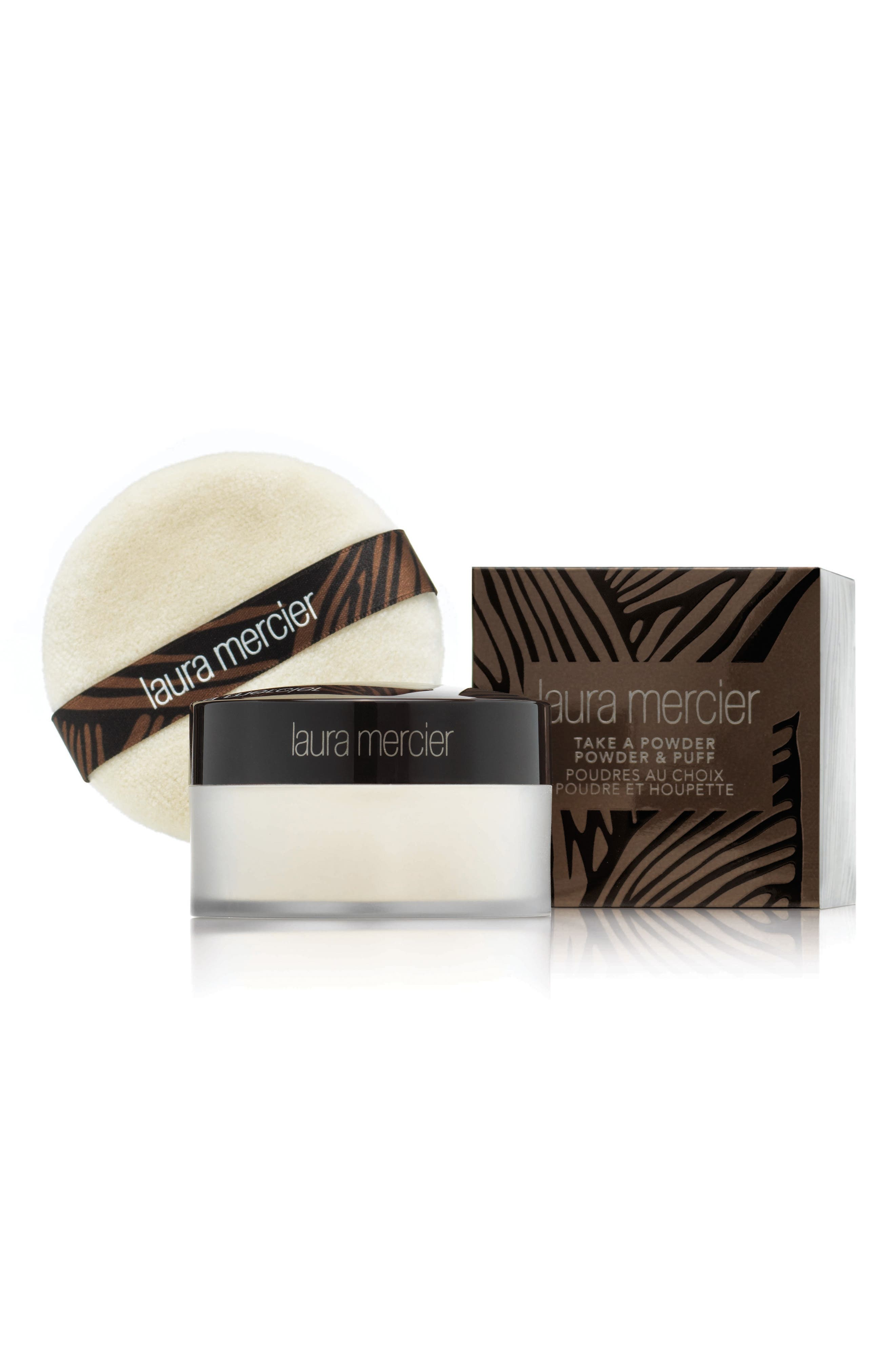 Laura Mercier Take a Powder Translucent Loose Setting Powder with Puff ($53 Value)
