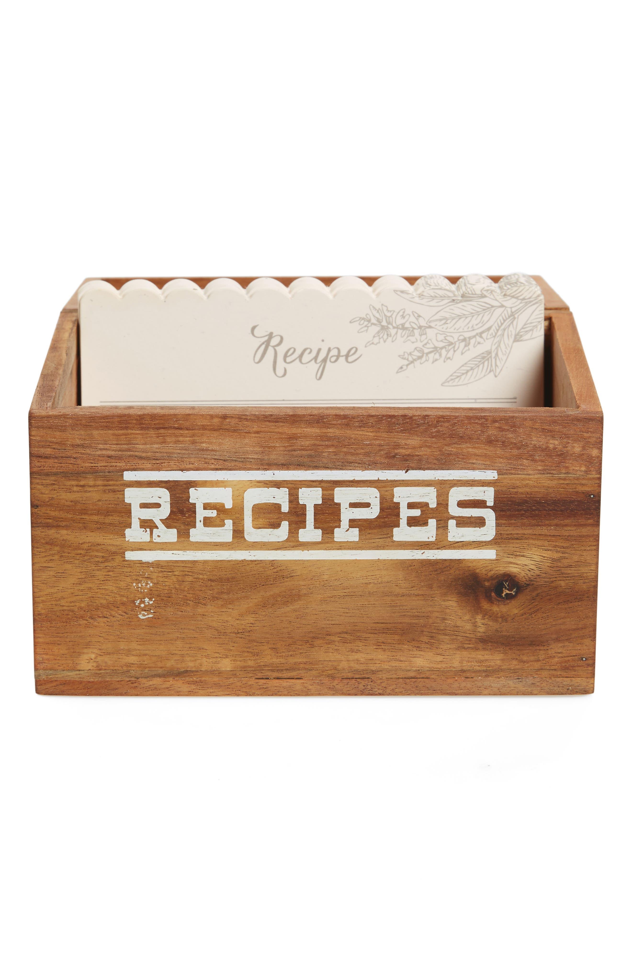 Alternate Image 2  - true fabrications Recipe Box
