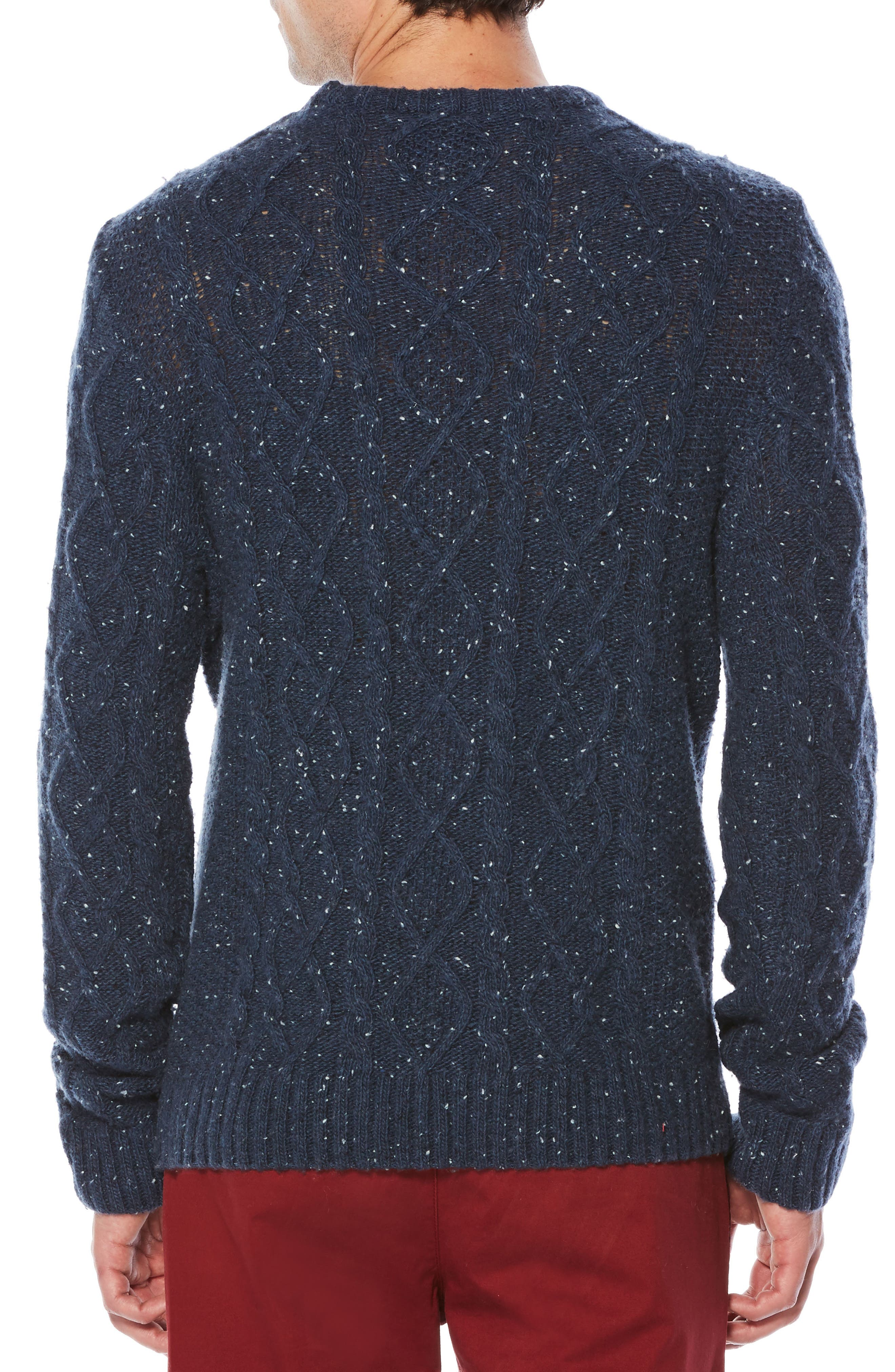 Alternate Image 2  - Original Penguin Fisherman Sweater