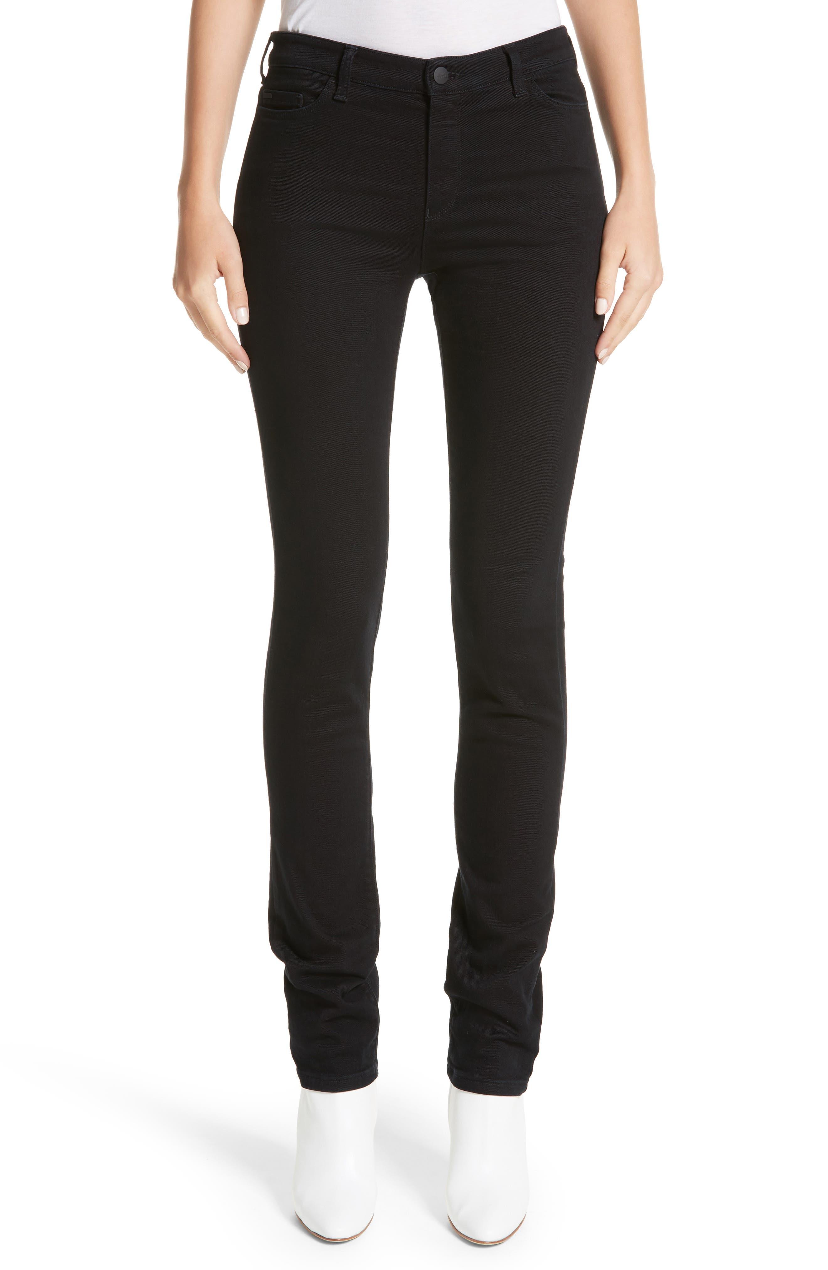 Alternate Image 1 Selected - Armani Collezioni Straight Leg Jeans