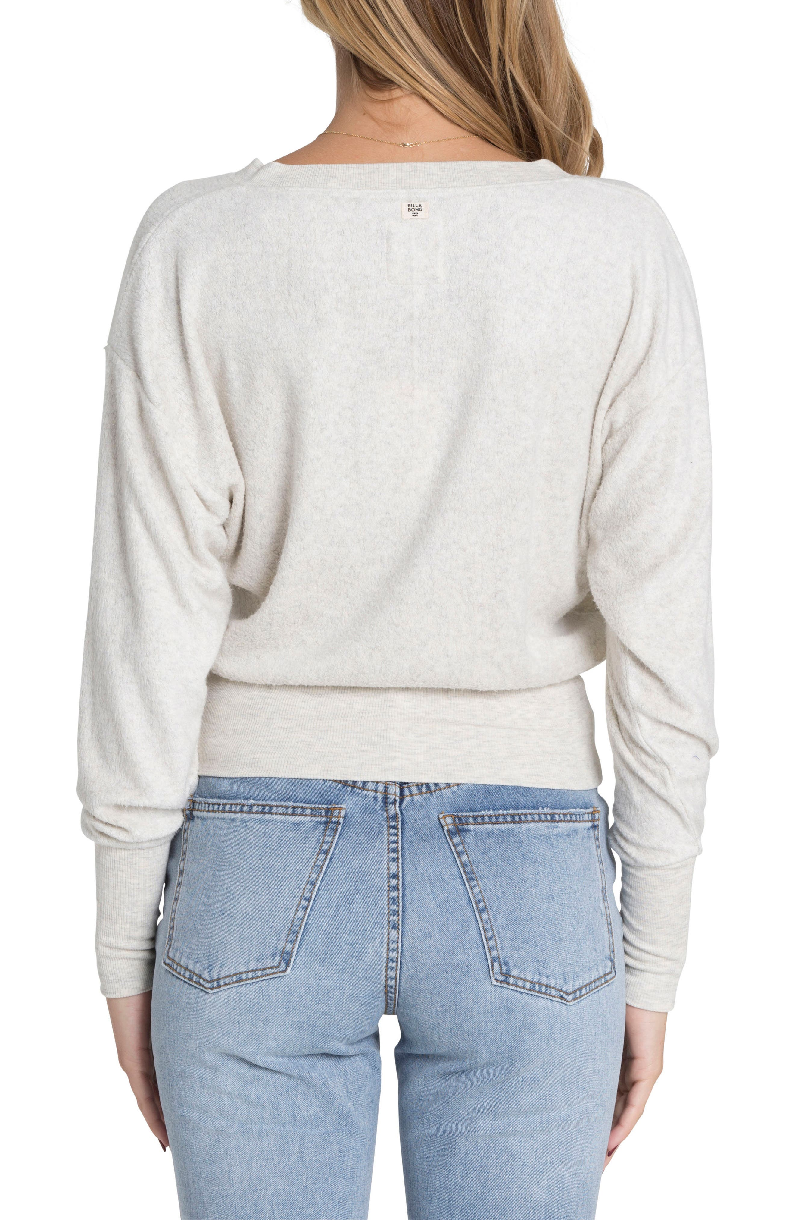 All I Need Sweater,                             Alternate thumbnail 2, color,                             Ice Athletic Grey