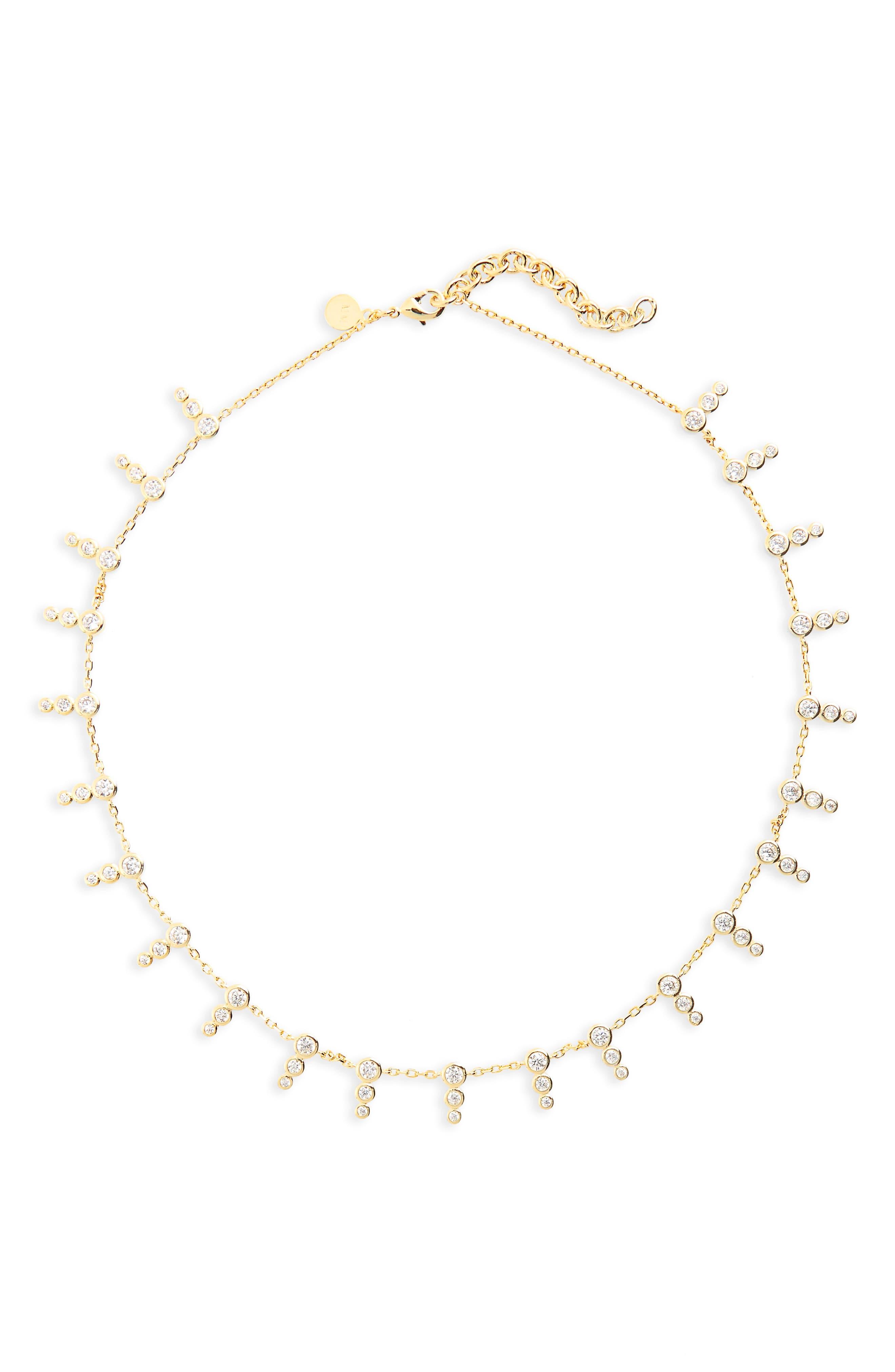Alternate Image 2  - Melinda Maria McPhee Cubic Zirconia Collar Necklace
