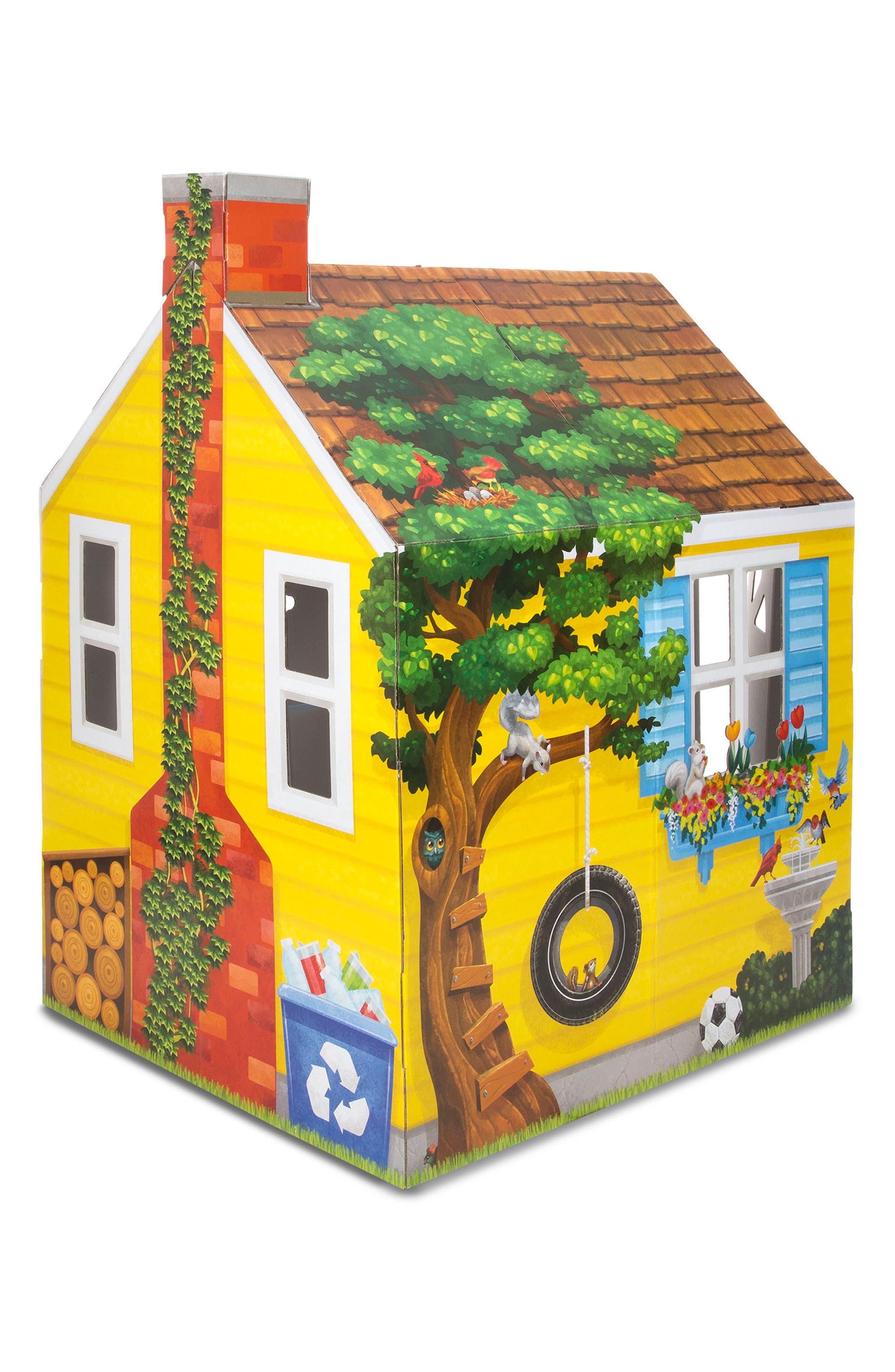 Cardboard Cottage,                             Alternate thumbnail 3, color,                             Multi