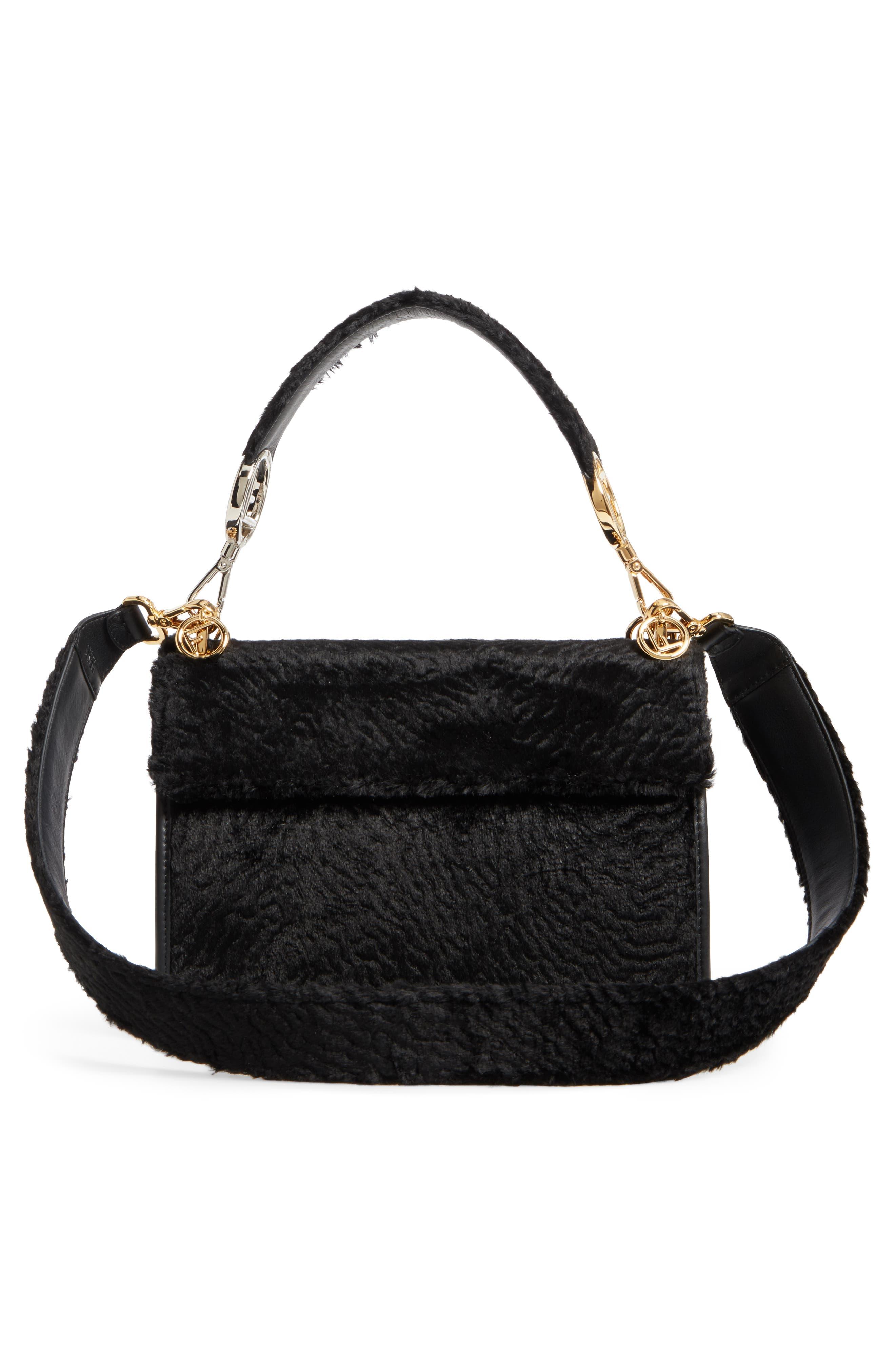 Alternate Image 3  - Fendi Kan I Logo Velvet Shoulder Bag