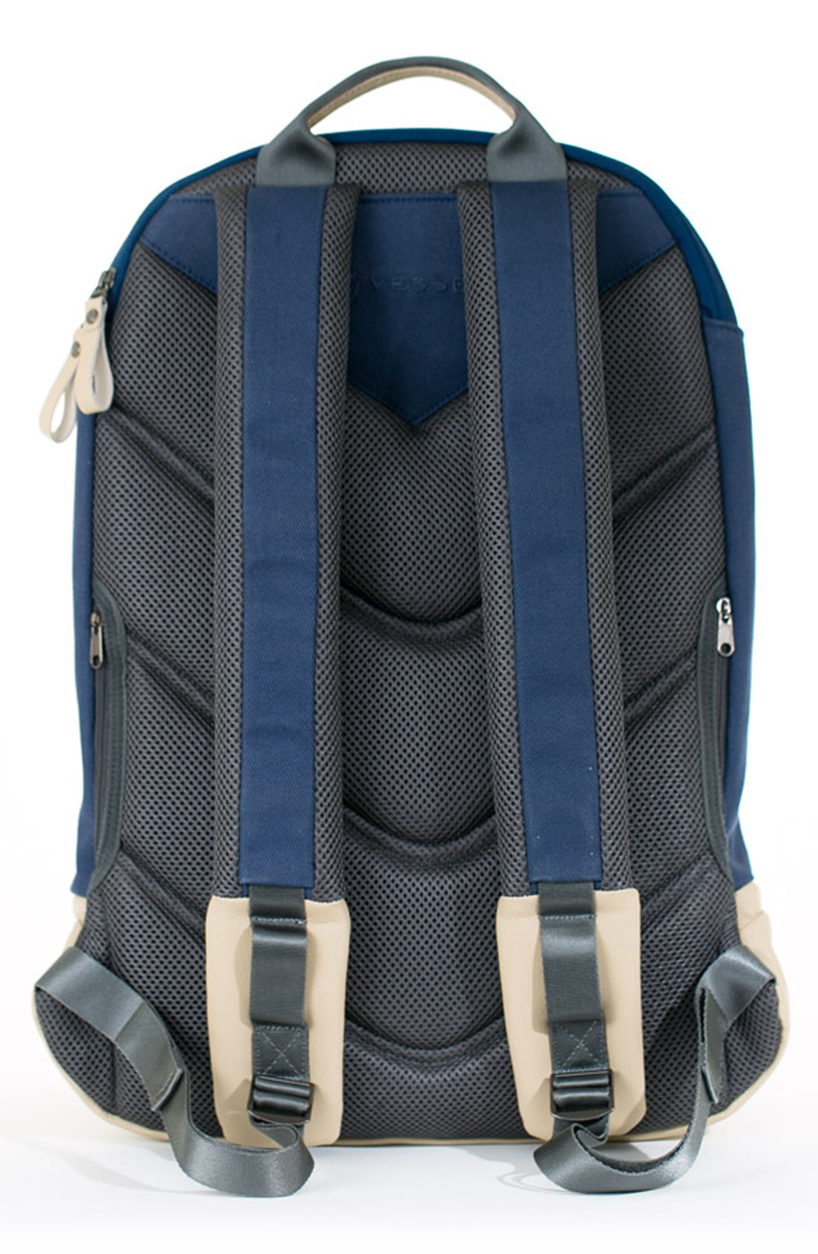 Signature Backpack,                             Alternate thumbnail 2, color,                             Navy