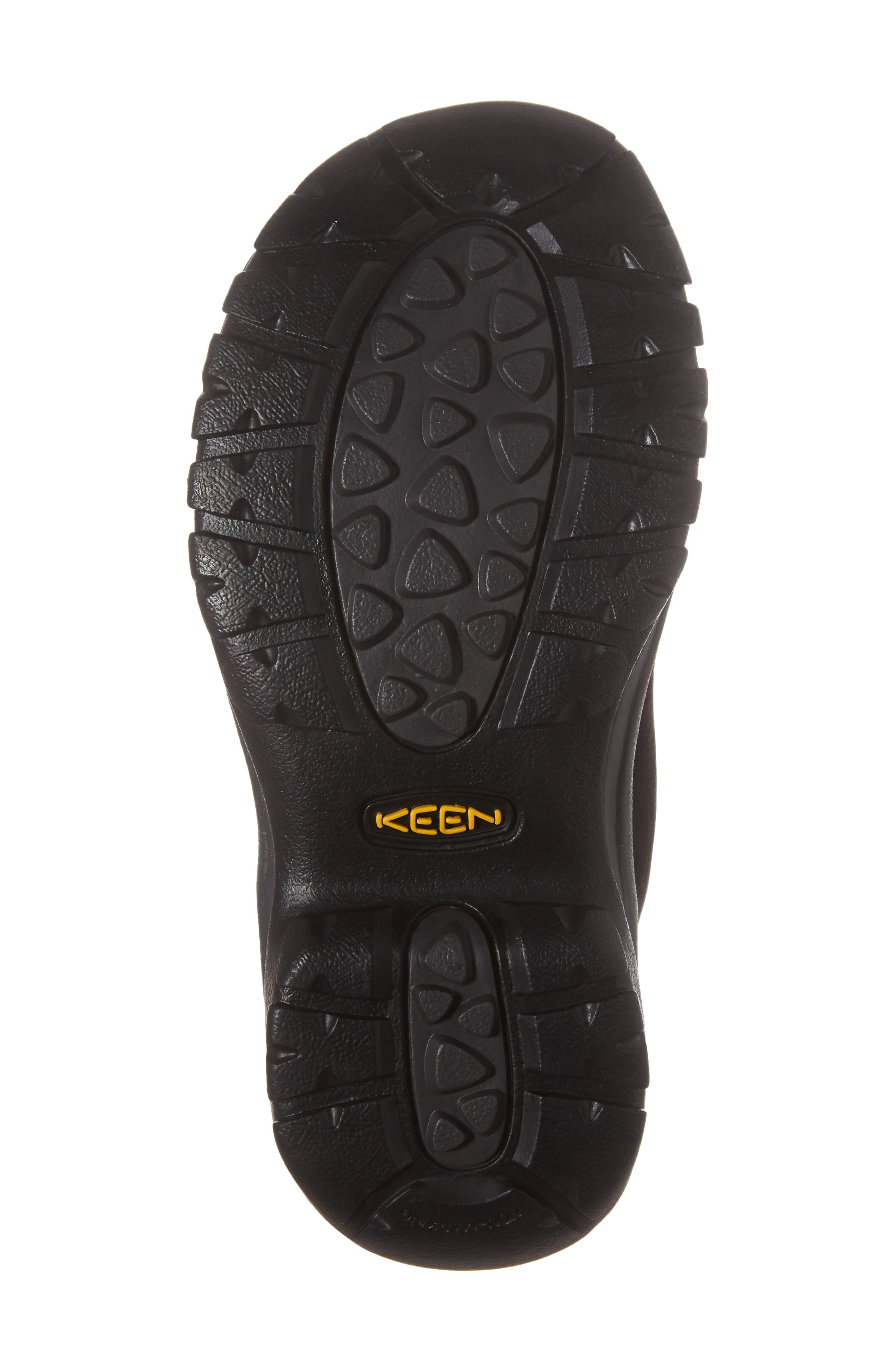 Kaci Waterproof Winter Boot,                             Alternate thumbnail 6, color,                             Black/ Magnet Leather