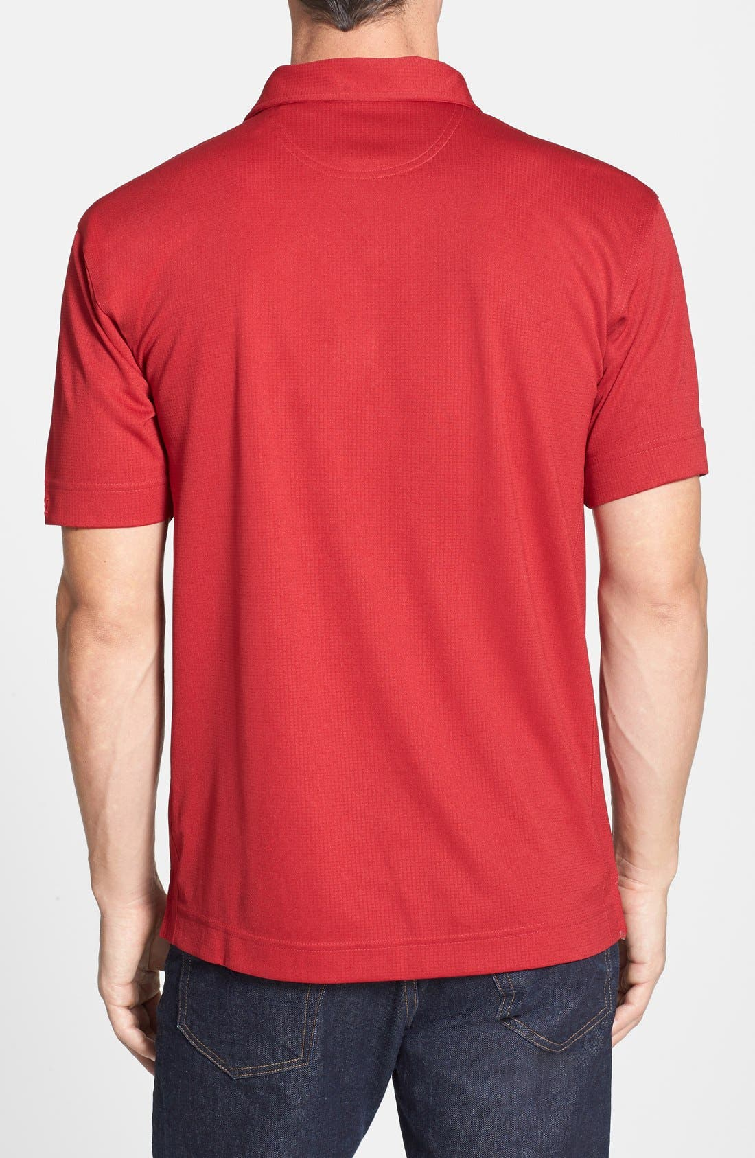 San Francisco 49ers - Genre DryTec Moisture Wicking Polo,                             Alternate thumbnail 2, color,                             Cardinal Red