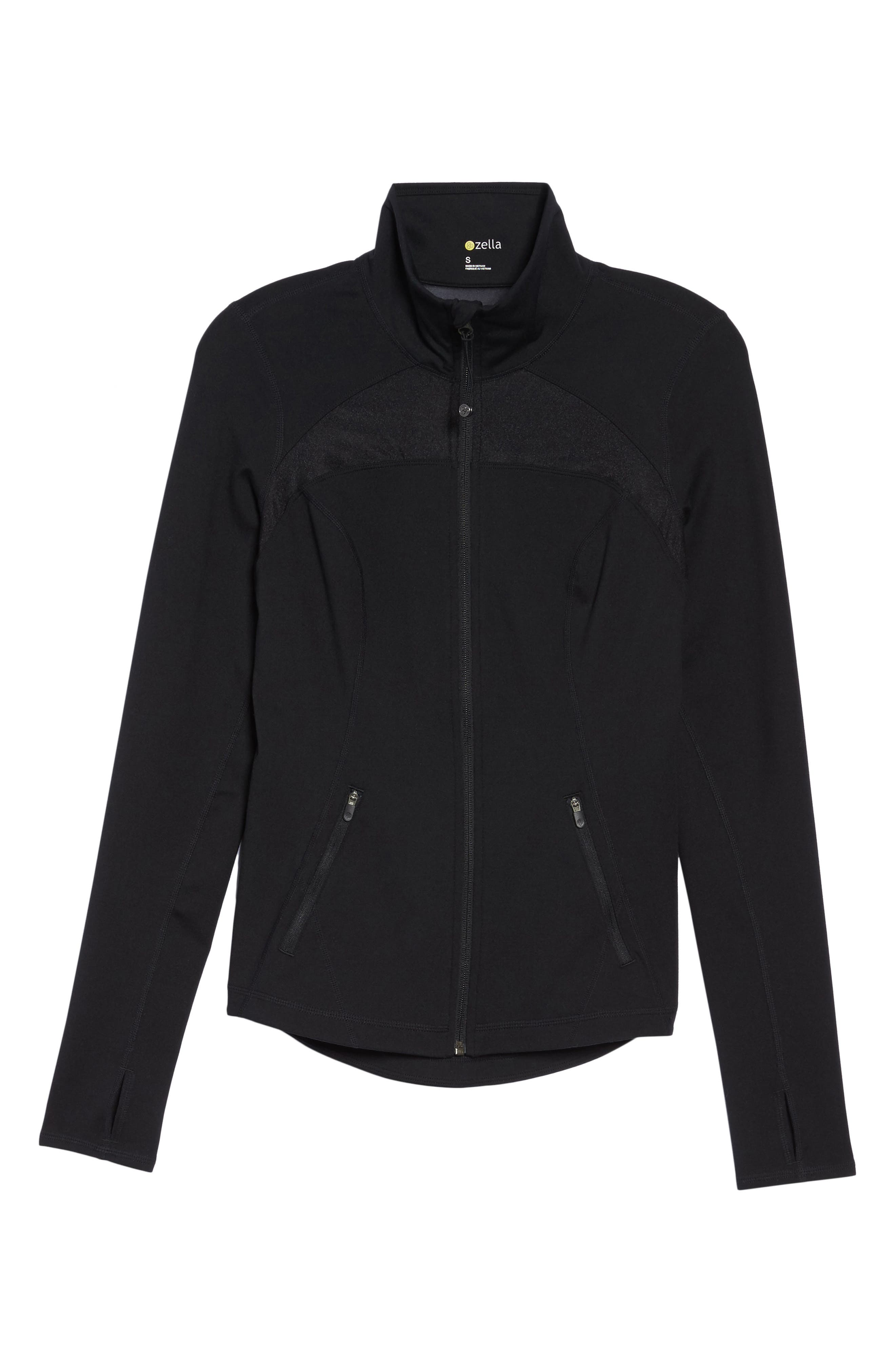 Alternate Image 6  - Zella Defy Zip Jacket