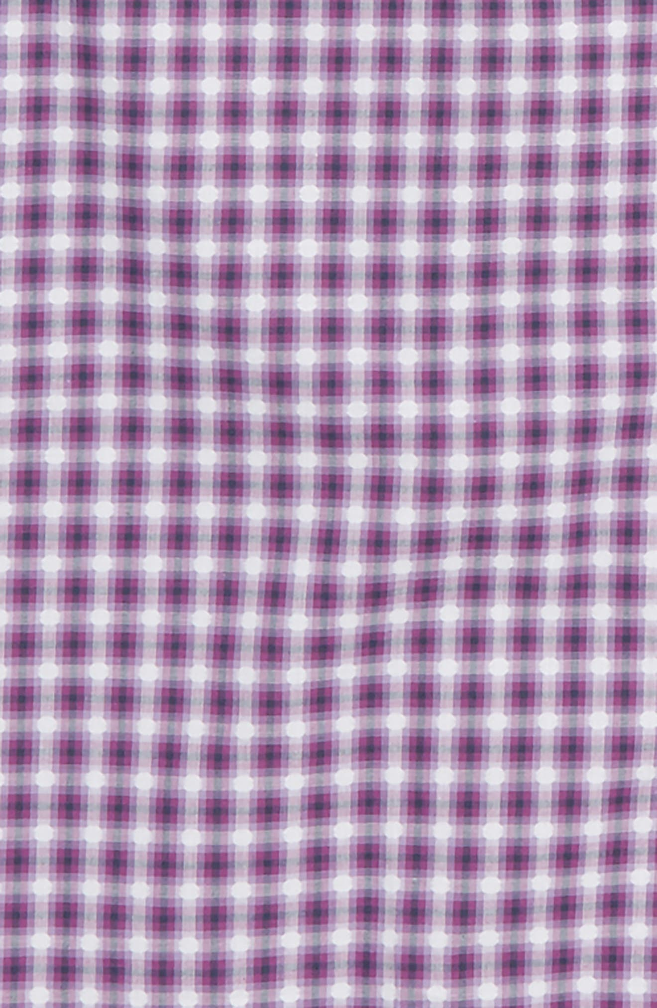 Alternate Image 2  - Thomas Dean Geo Check Dress Shirt (Big Boys)