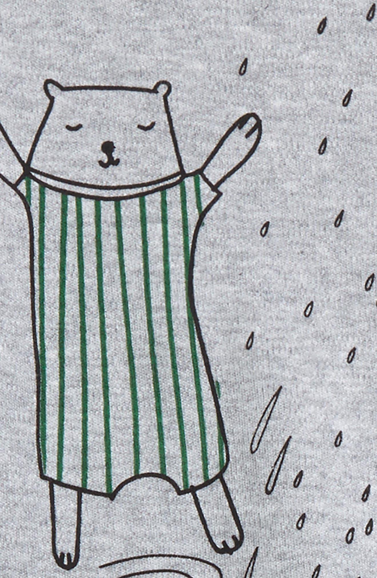 Alternate Image 2  - SOOKIbaby Christmas T-Shirt & Pants Set (Baby)