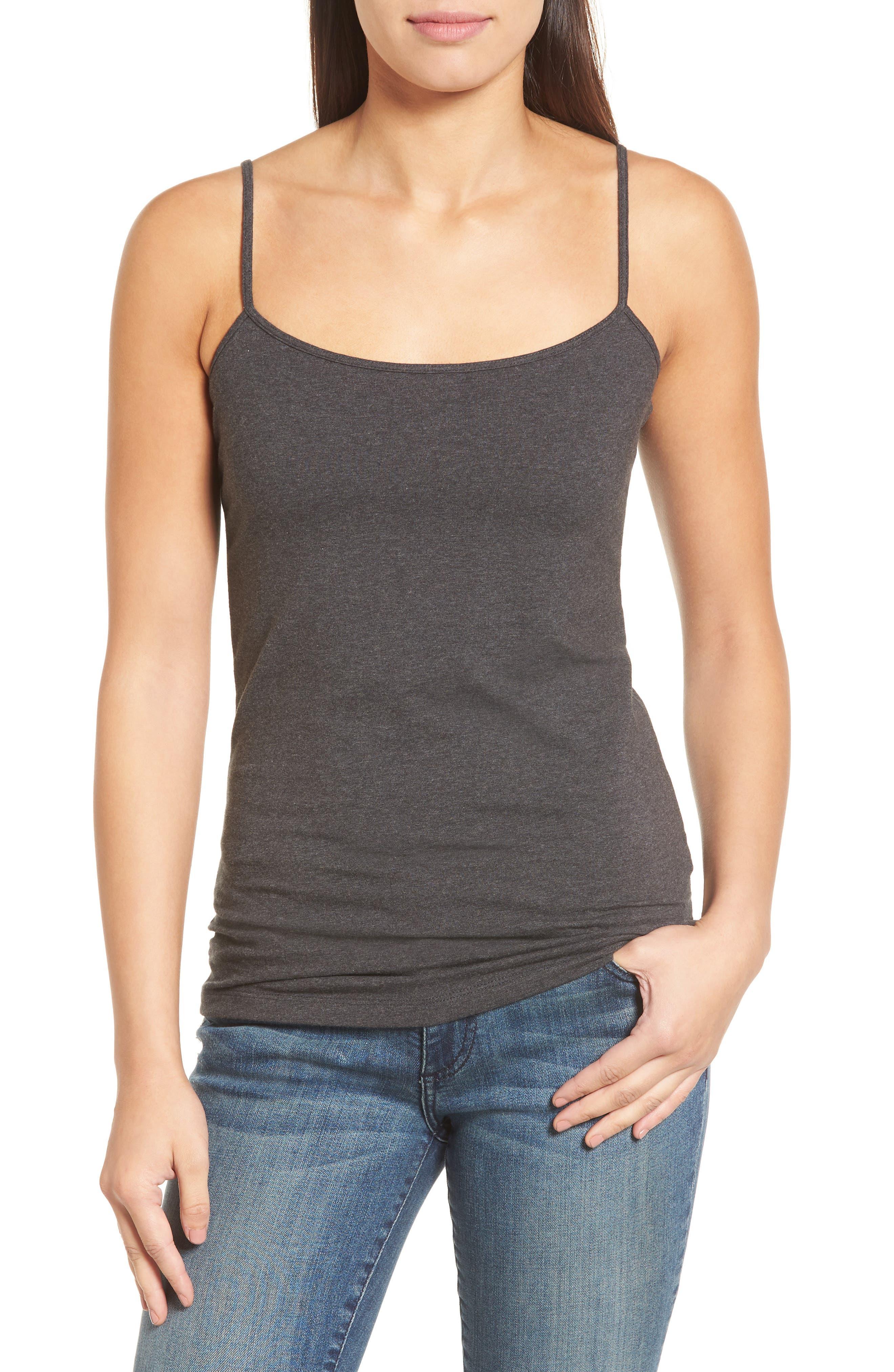 e64d4f2d85035a Women s Grey Tops