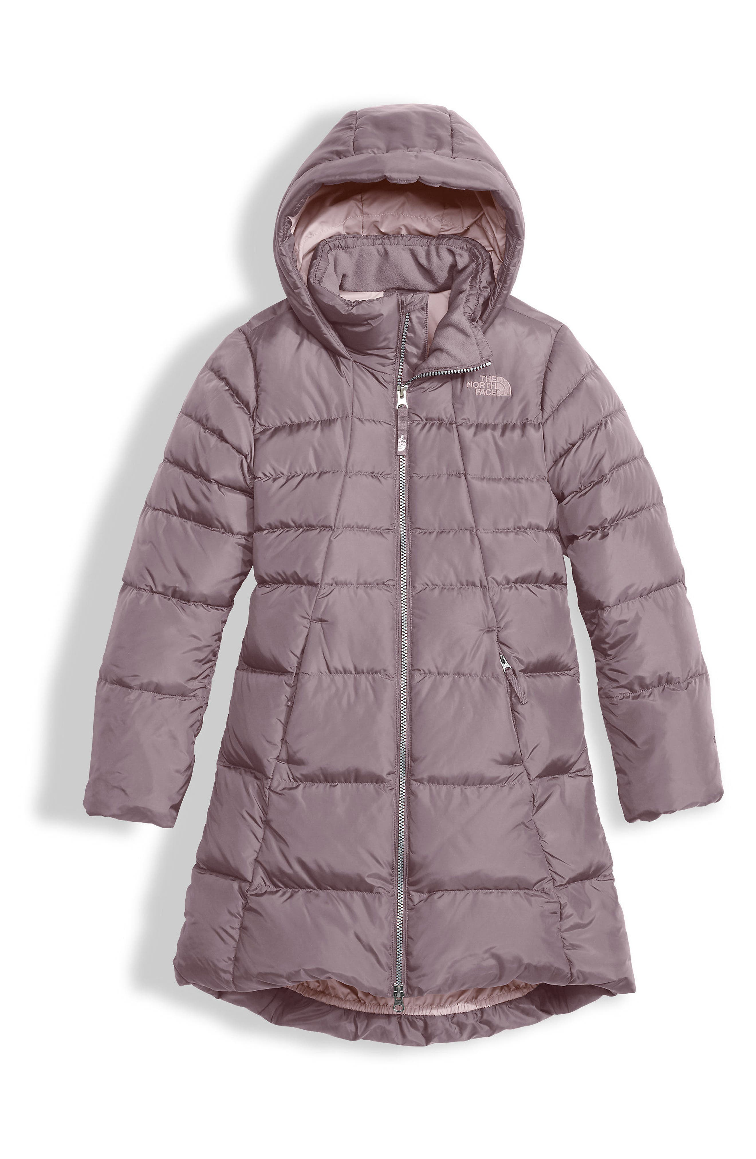 Main Image - The North Face Elisa Water Repellent 550-Fill Power Down Parka (Little Girls & Big Girls)