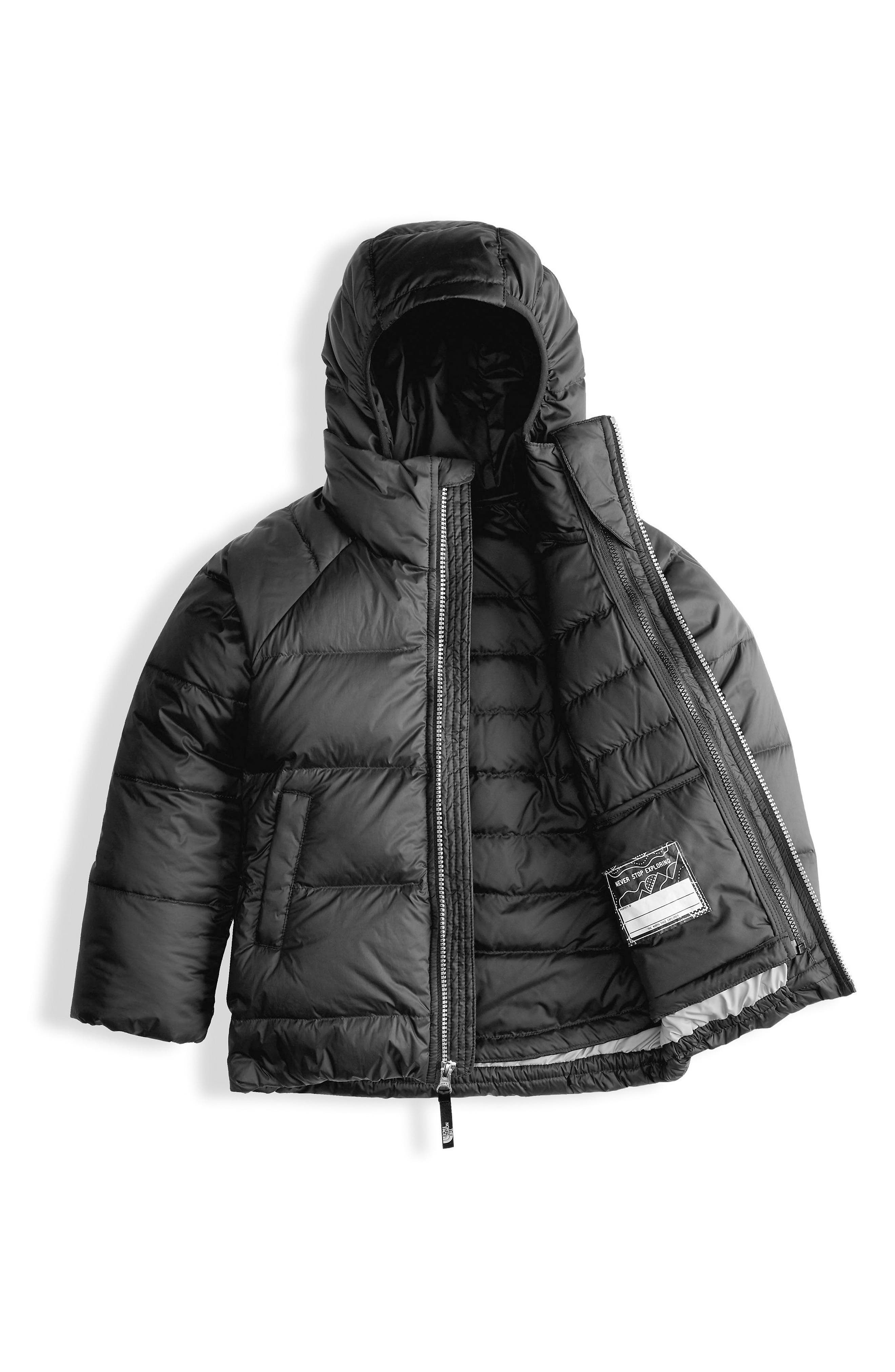 Double Down TriClimate<sup>®</sup> 3-in-1 Jacket,                             Alternate thumbnail 3, color,                             Tnf Black
