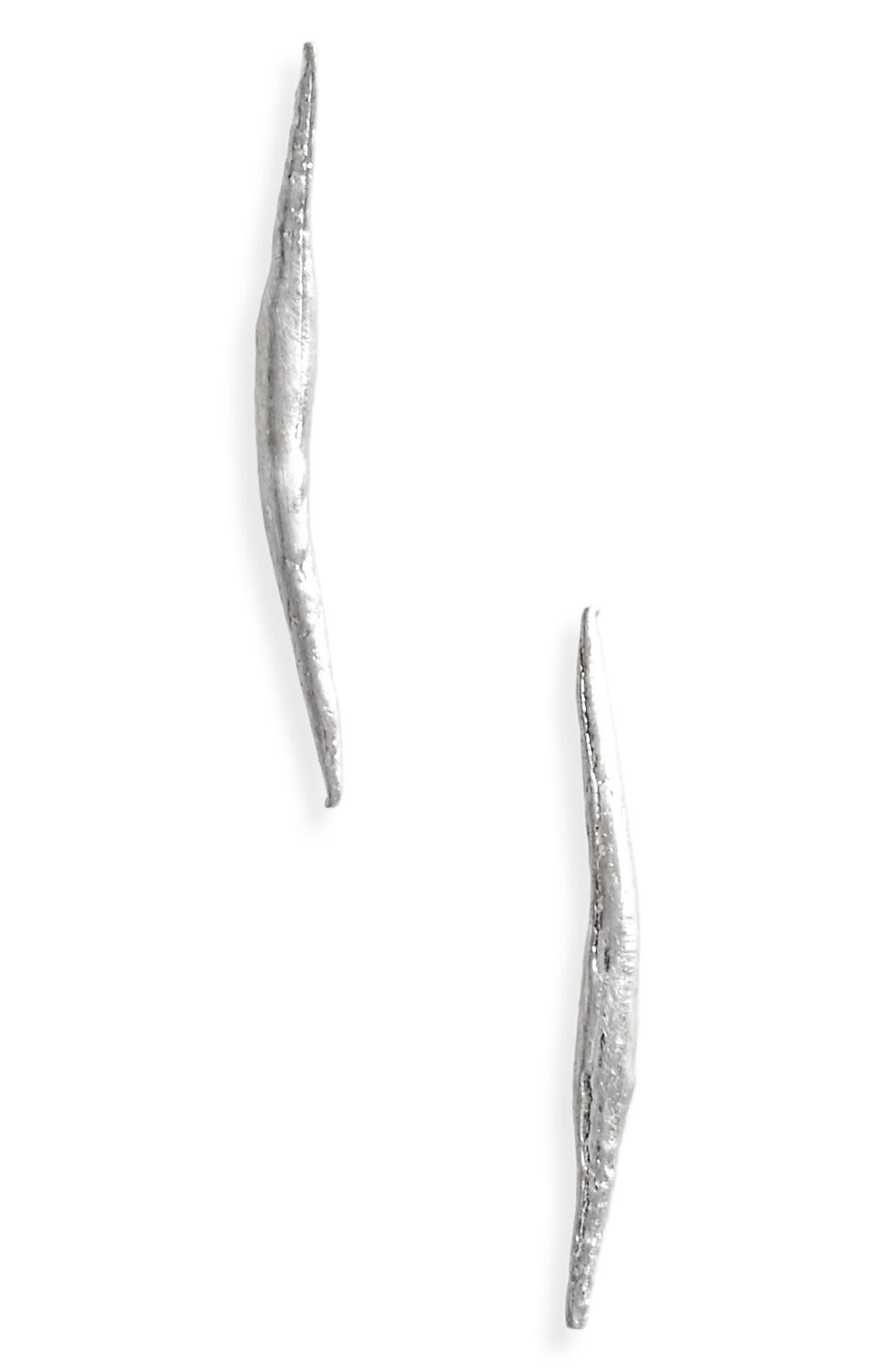 WWAKE Stick Wisp Earrings