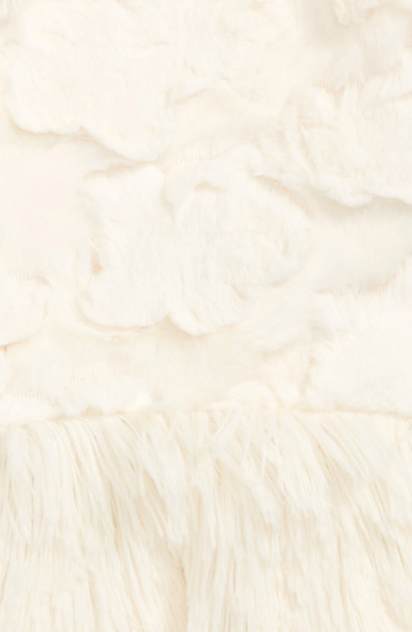 Alternate Image 2  - Widgeon Faux Fur Peplum Vest (Toddler Girls & Little Girls)
